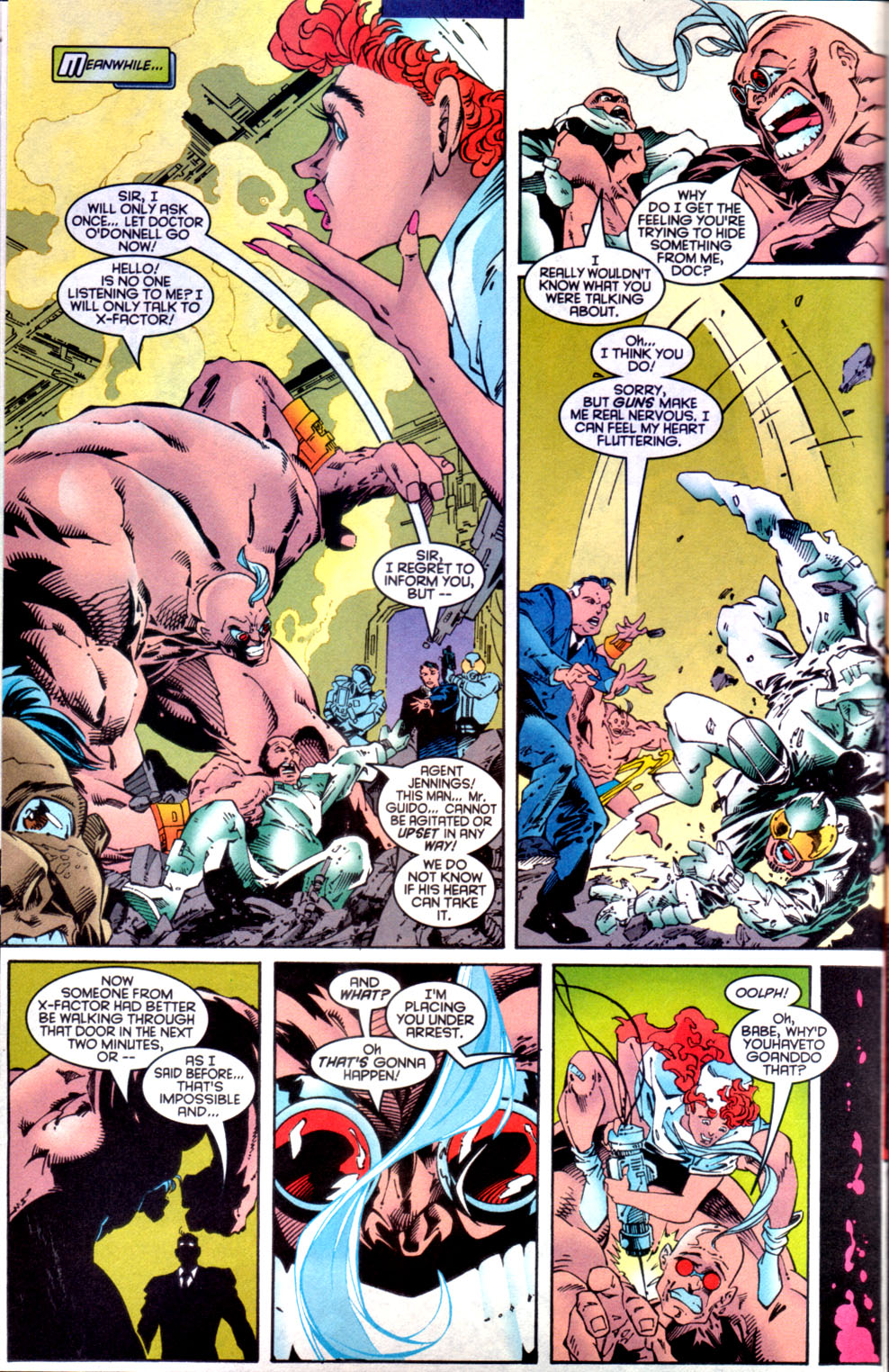 Read online X-Factor (1986) comic -  Issue #134 - 15