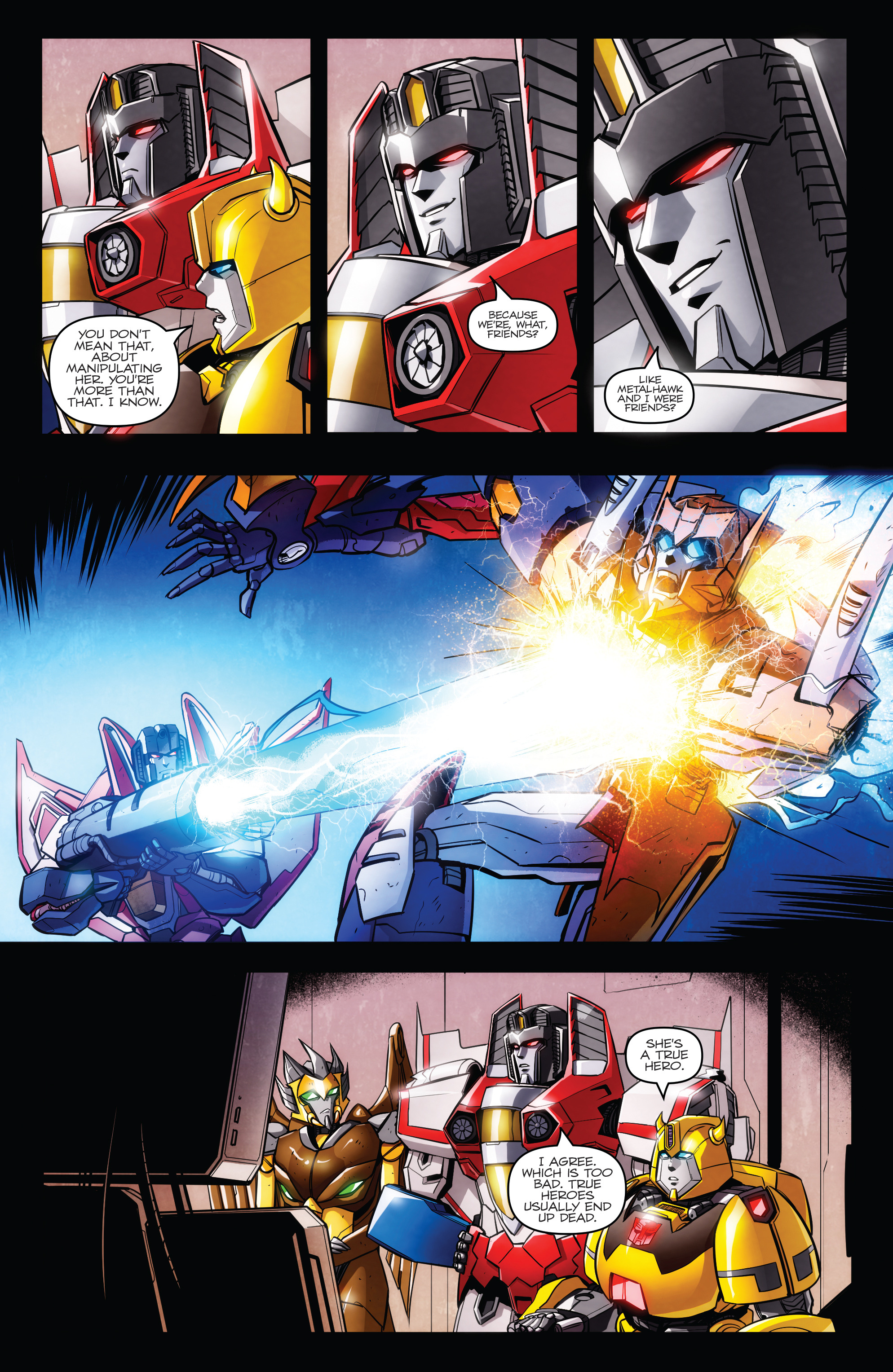 Read online Transformers: Till All Are One comic -  Issue #7 - 7