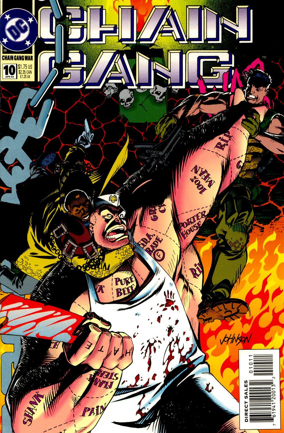 Chain Gang War 10 Page 1