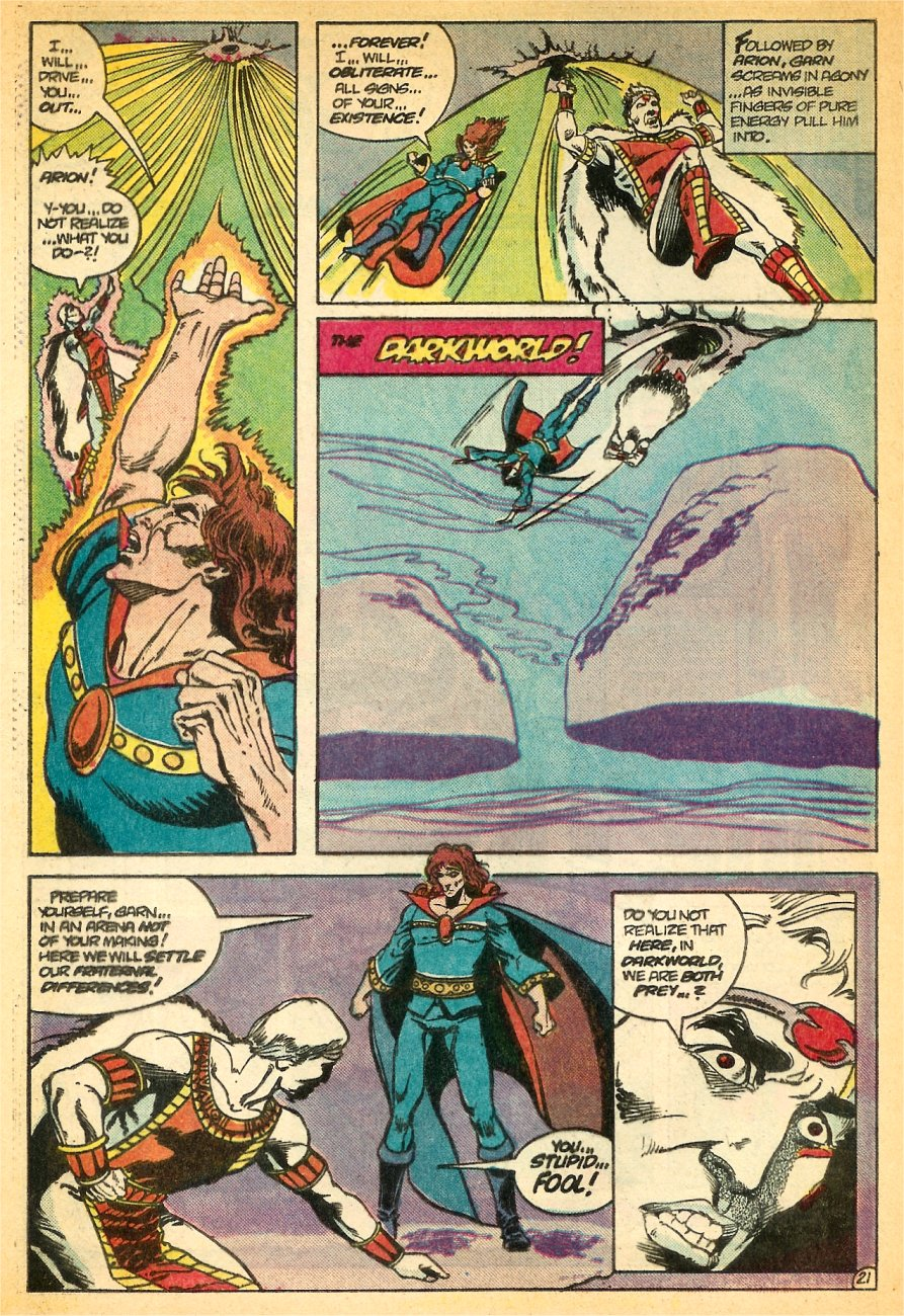 Read online Arion, Lord of Atlantis comic -  Issue #24 - 22