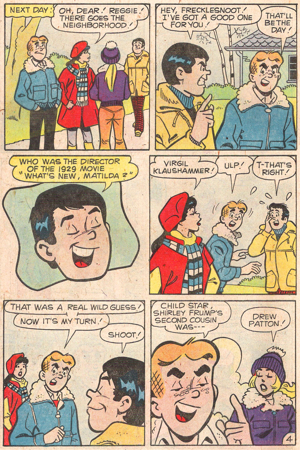 Read online Archie's Girls Betty and Veronica comic -  Issue #279 - 6