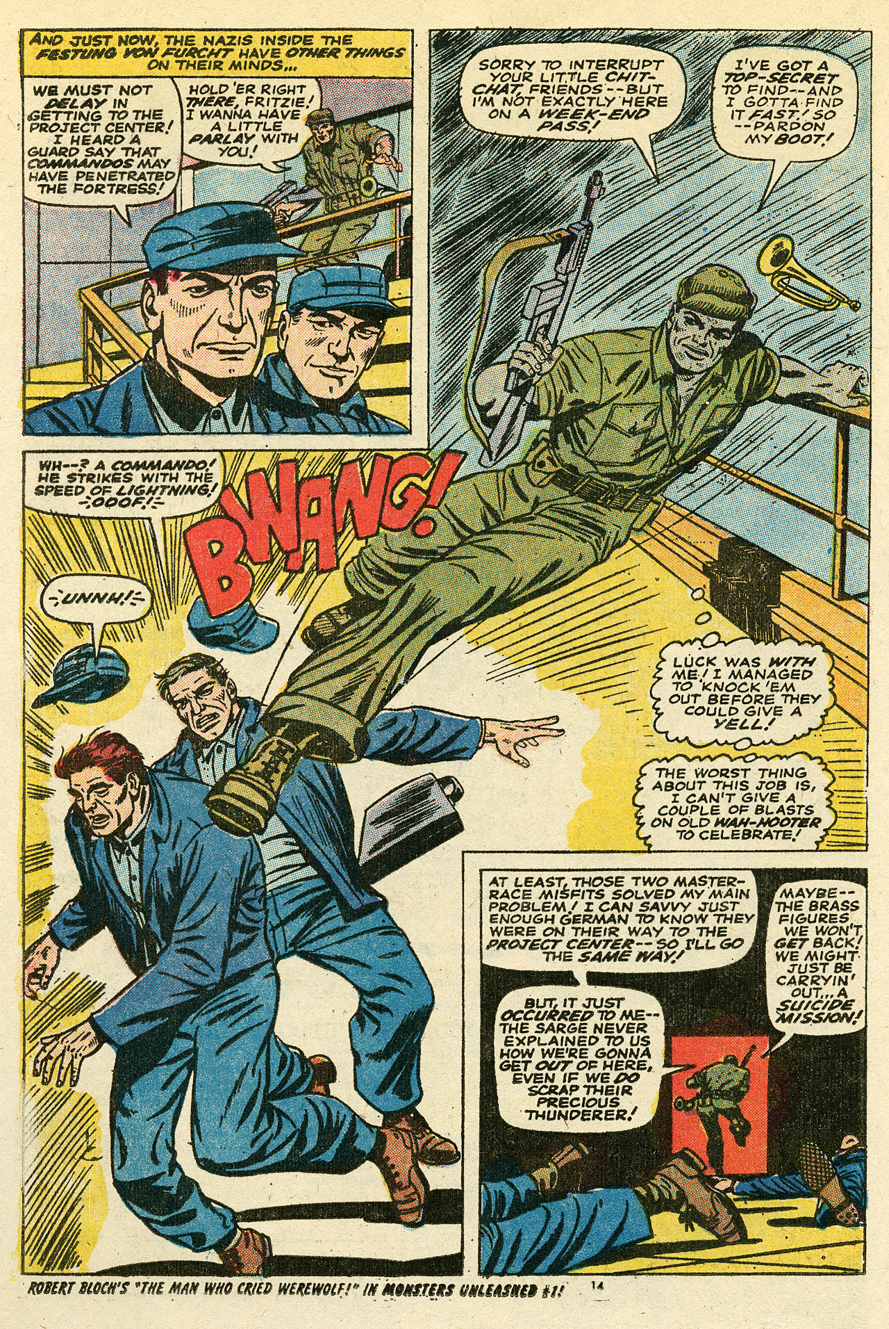 Read online Sgt. Fury comic -  Issue #111 - 16