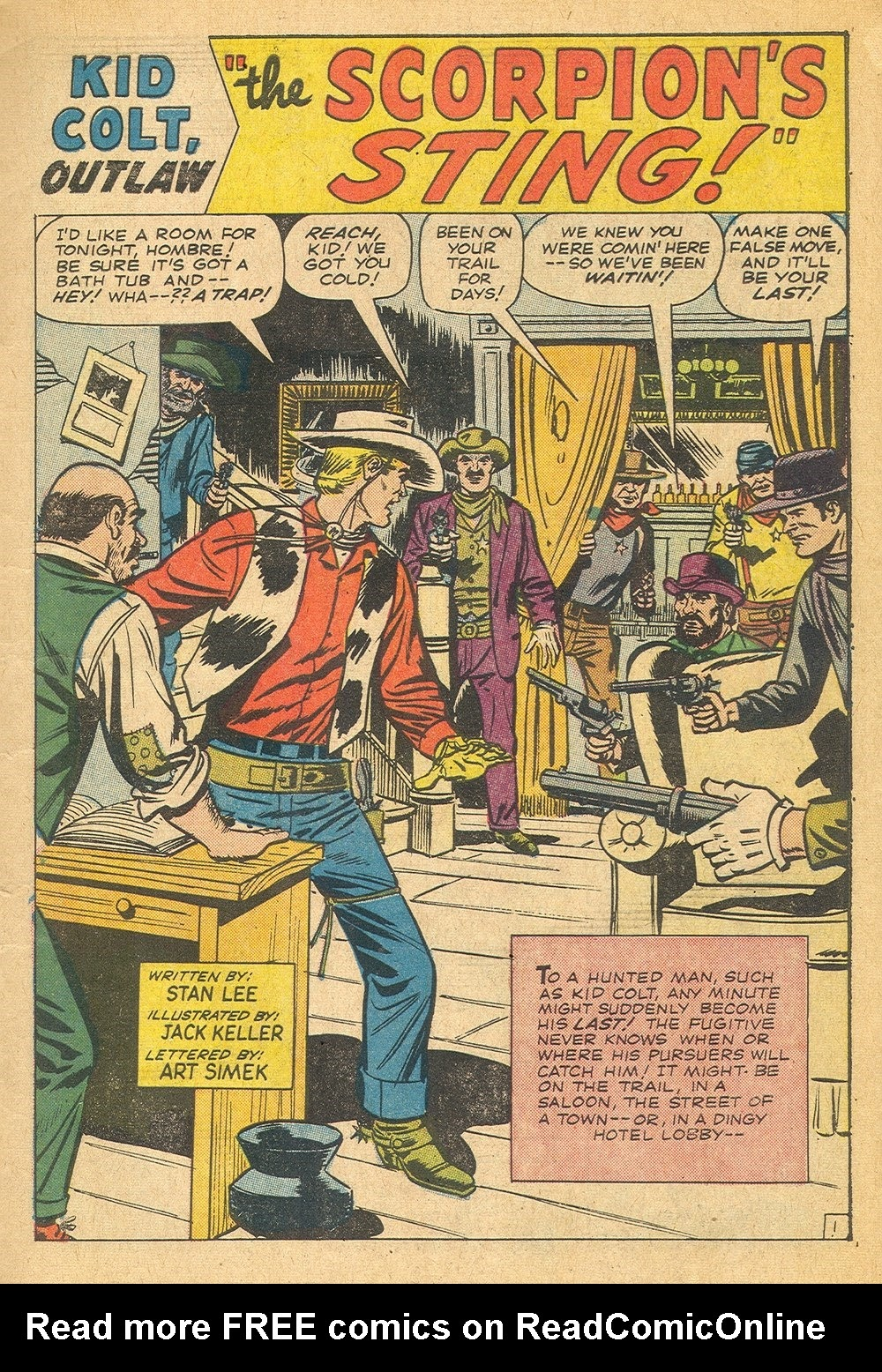 Kid Colt Outlaw issue 115 - Page 3
