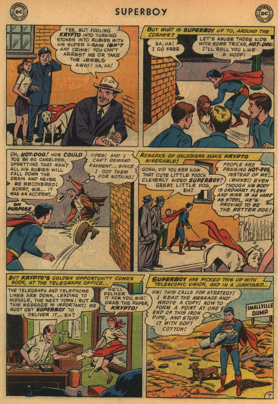 Superboy (1949) issue 64 - Page 27