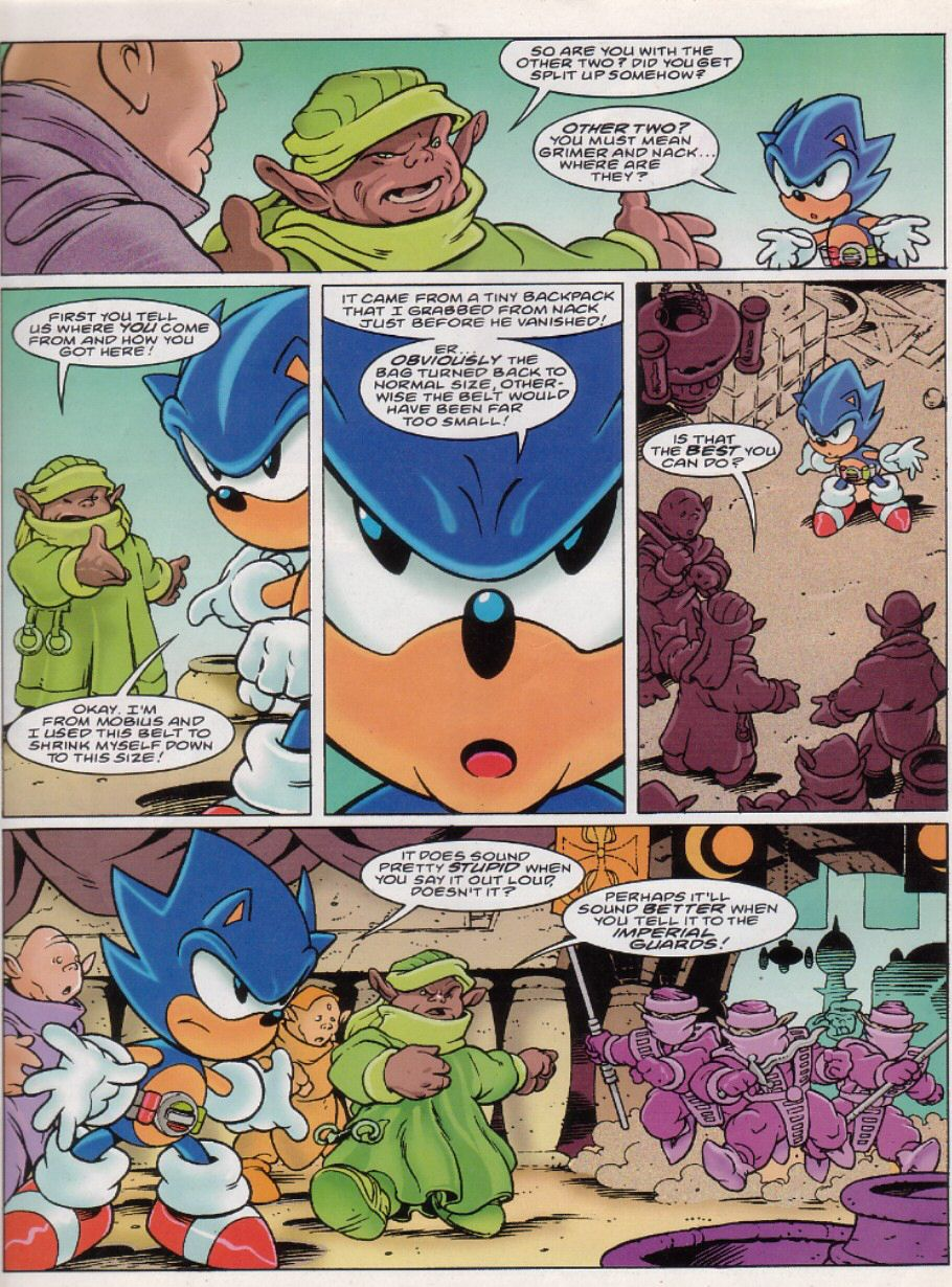 Read online Sonic the Comic comic -  Issue #149 - 3
