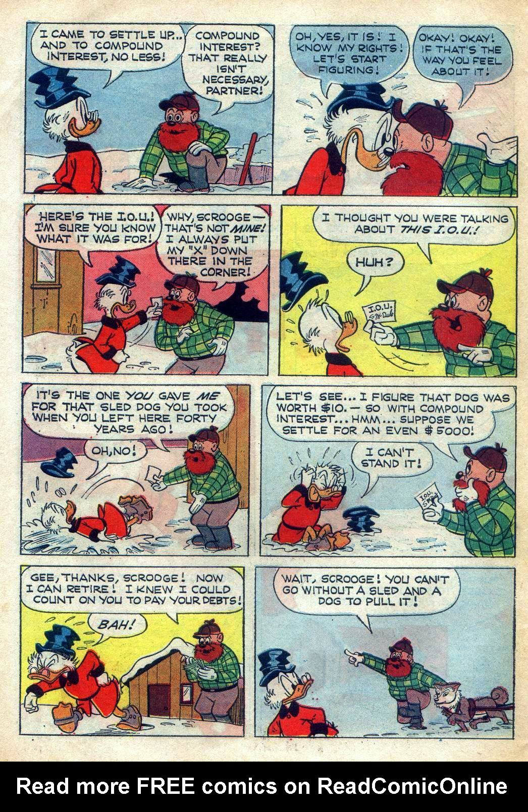 Read online Uncle Scrooge (1953) comic -  Issue #78 - 6
