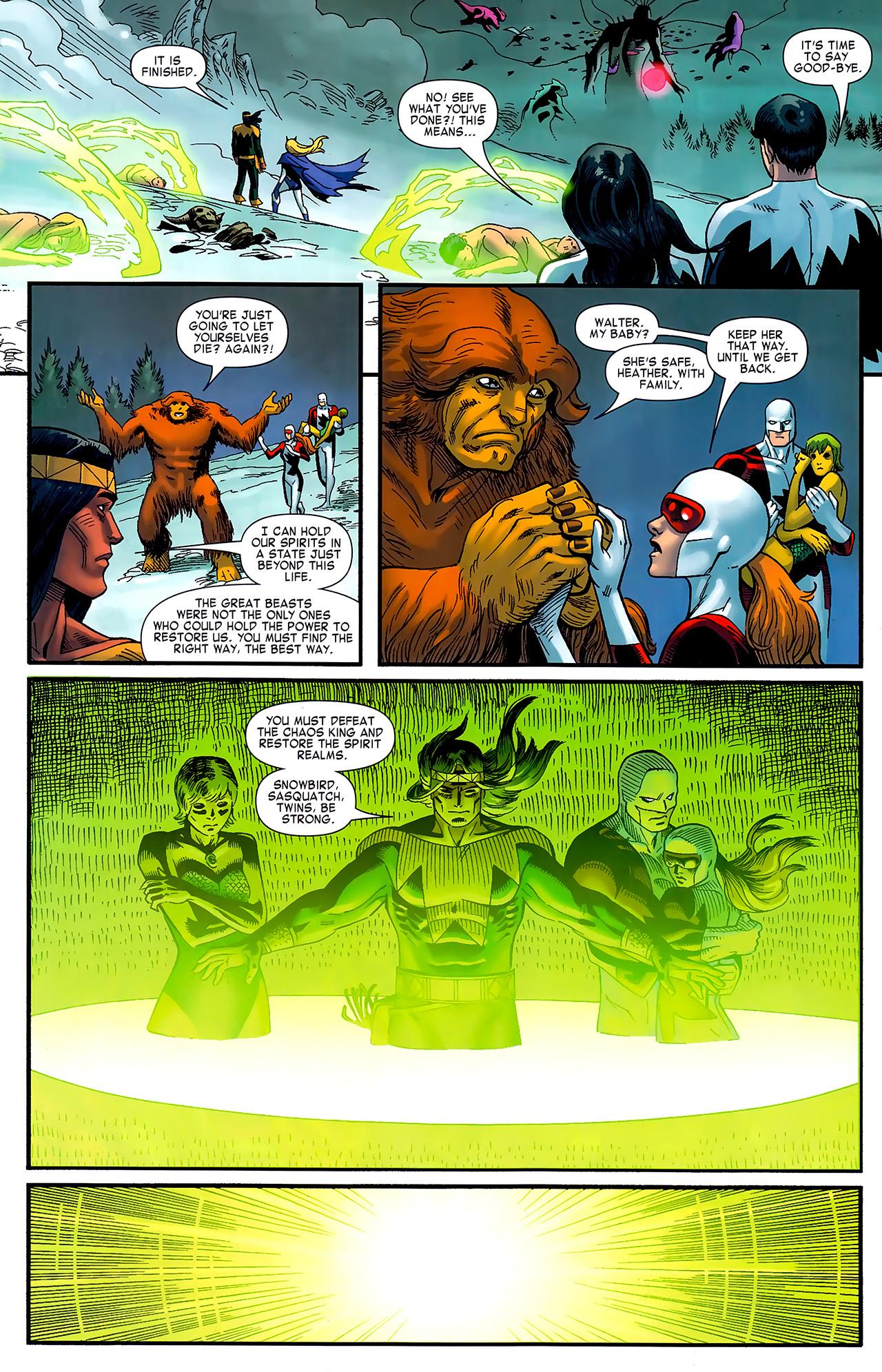 Read online Chaos War: Alpha Flight comic -  Issue # Full - 21