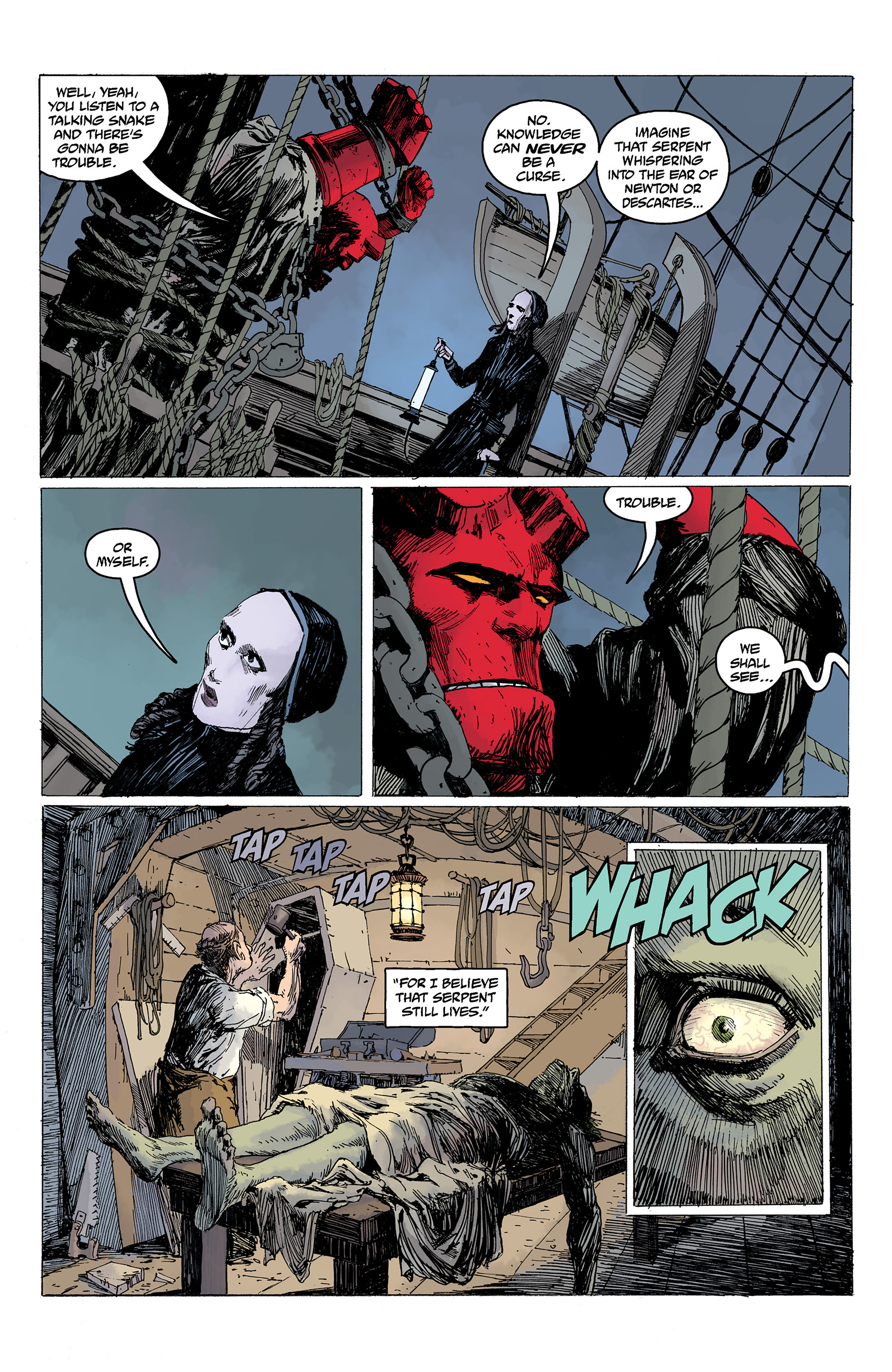 Read online Hellboy: Into the Silent Sea comic -  Issue # Full - 32