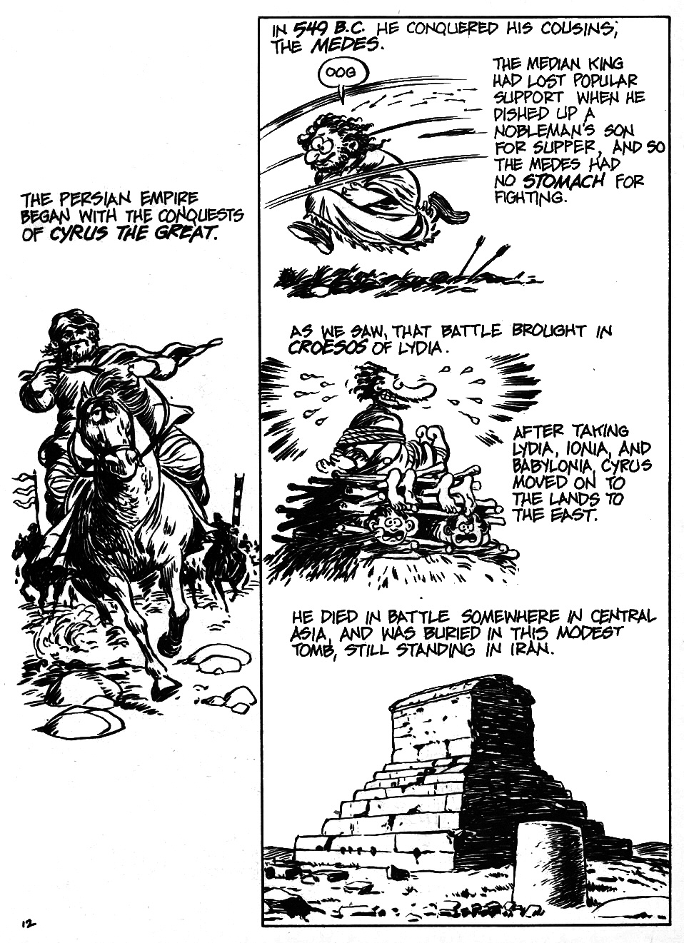 Read online The Cartoon History of the Universe comic -  Issue #6 - 14