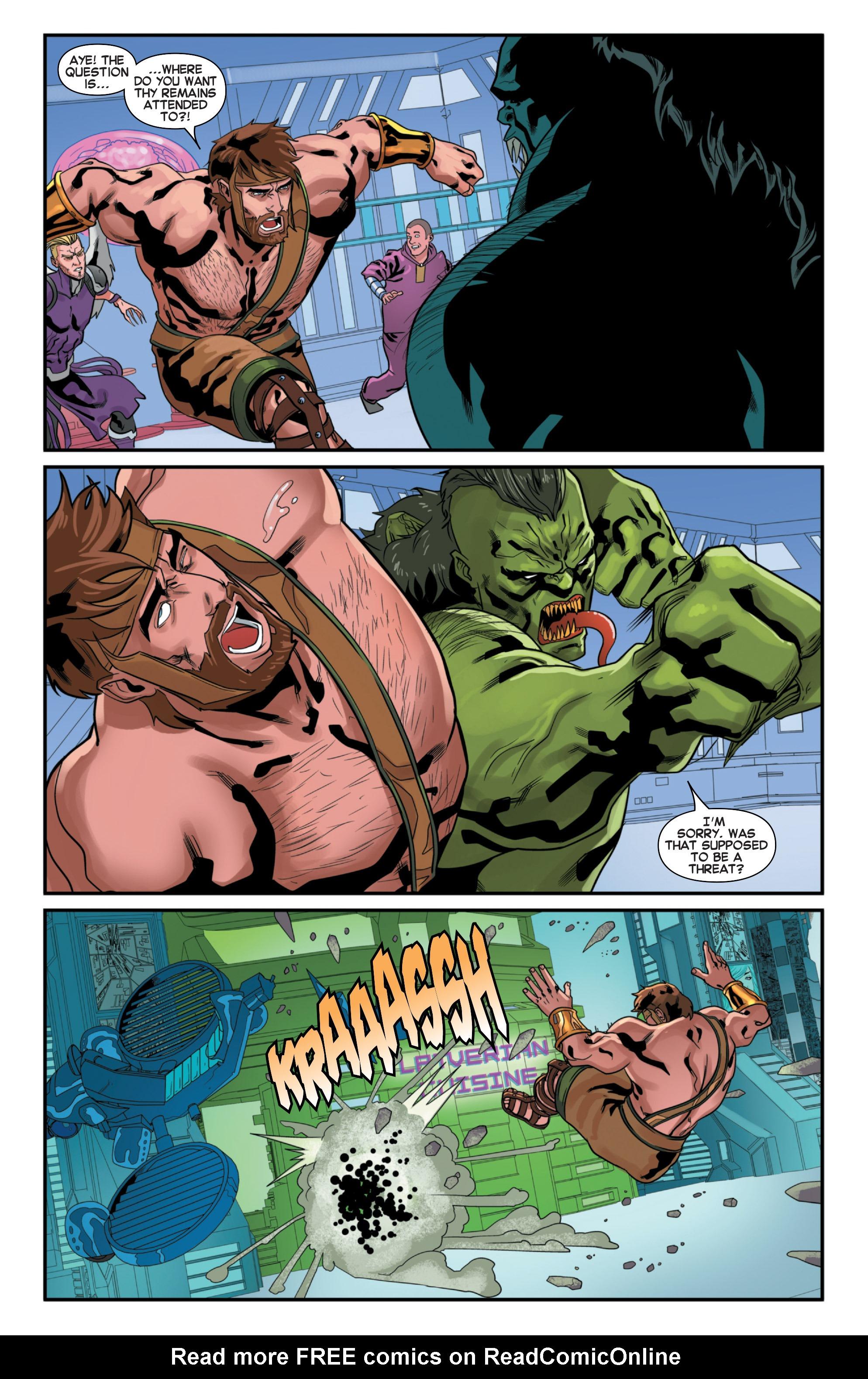 Read online Secret Wars 2099 comic -  Issue #2 - 19