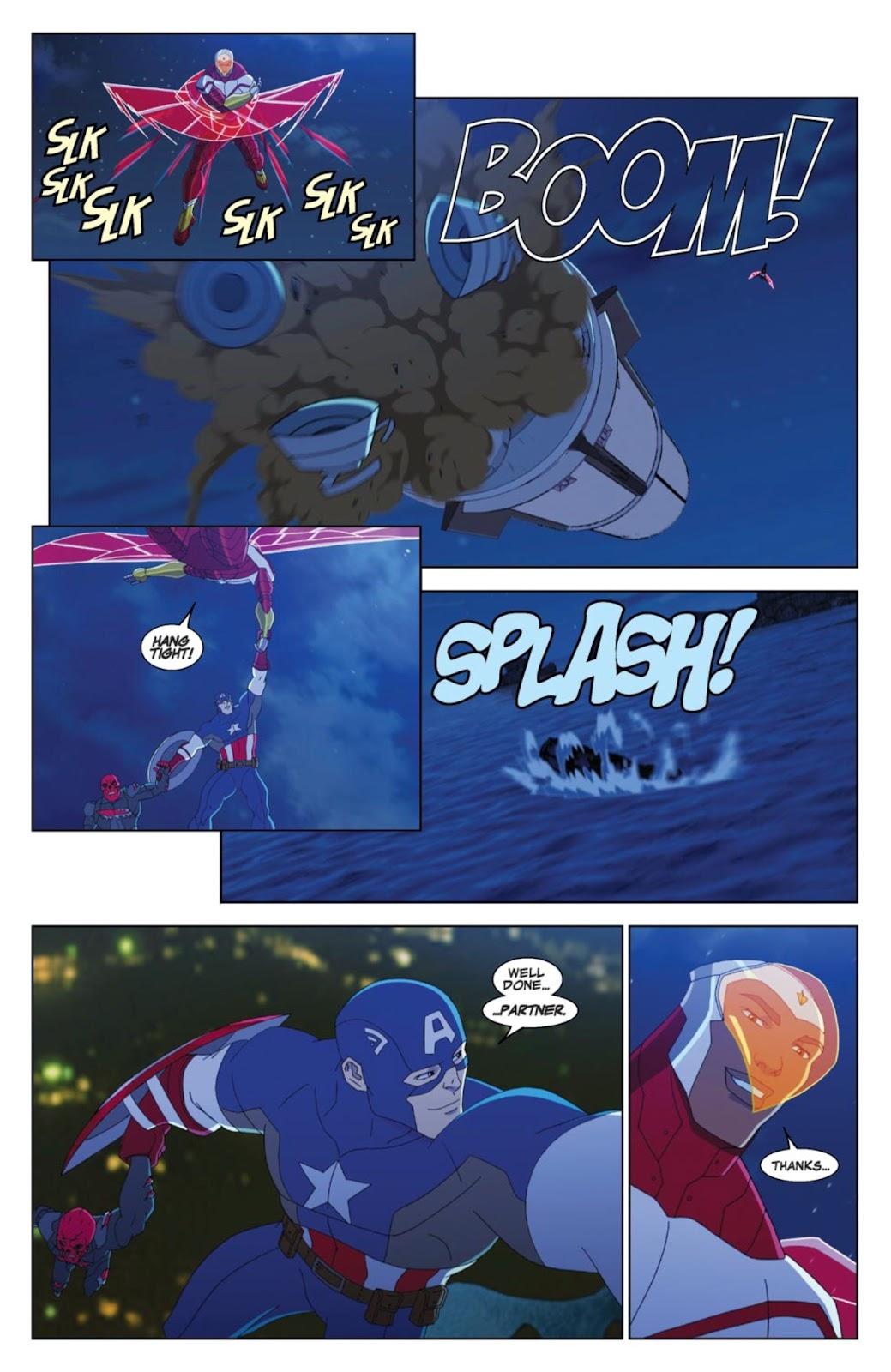 Read online Marvel Universe Avengers Assemble Season 2 comic -  Issue #4 - 21