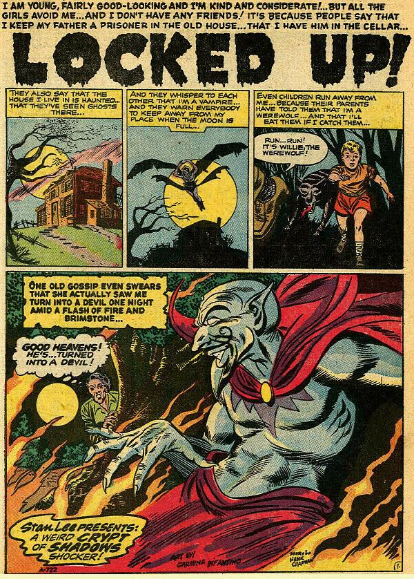 Read online Adventures into Weird Worlds comic -  Issue #9 - 2