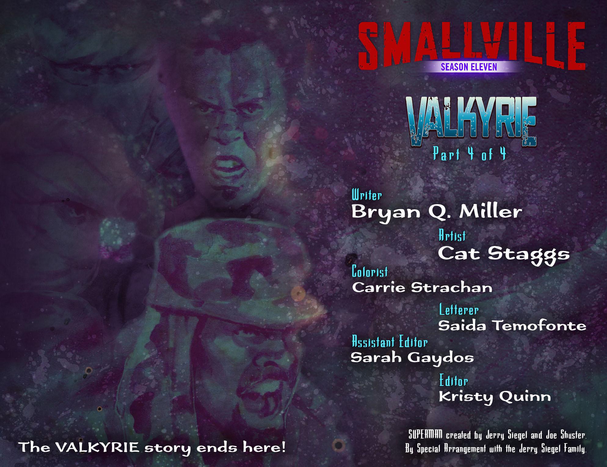 Read online Smallville: Season 11 comic -  Issue #50 - 2