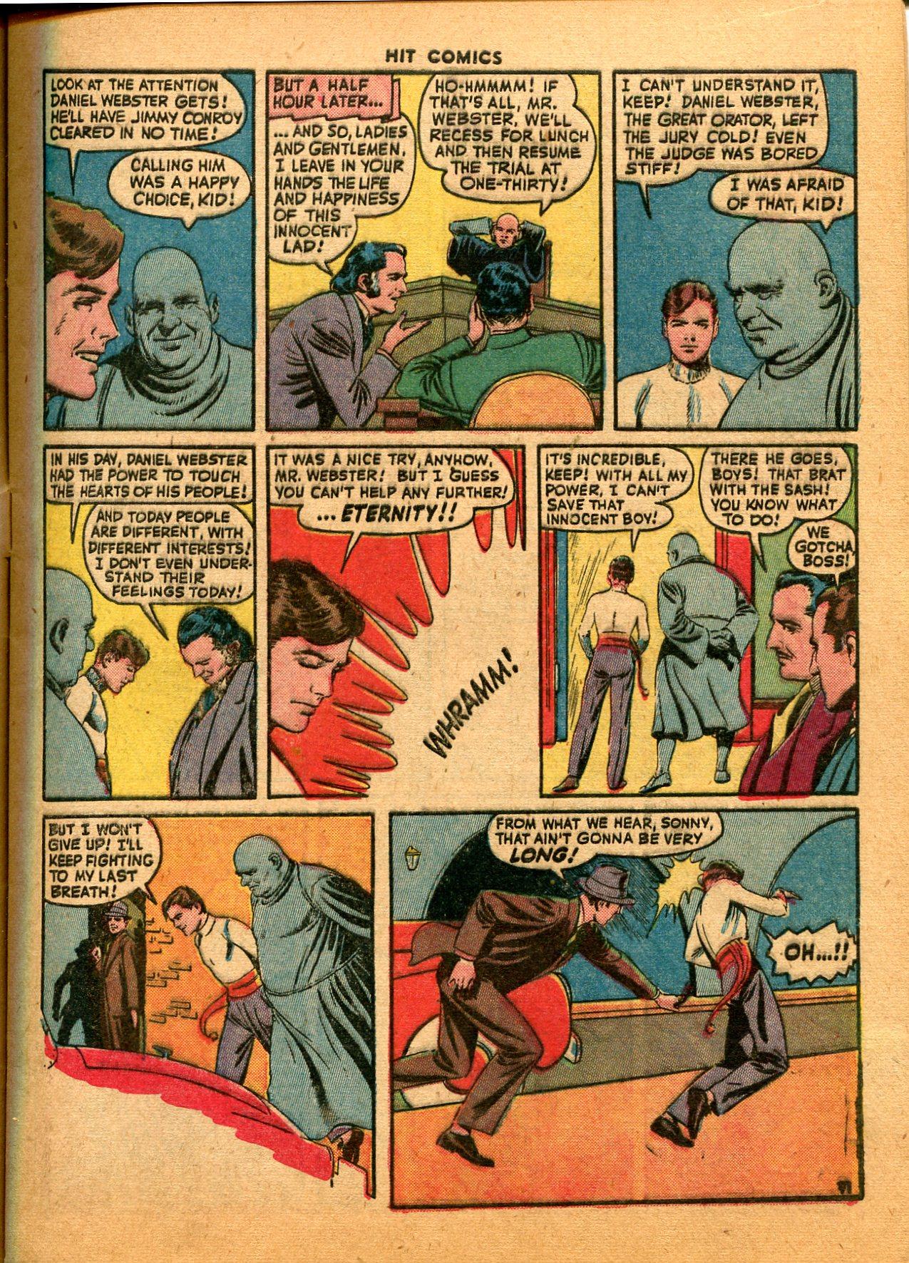 Read online Hit Comics comic -  Issue #35 - 13