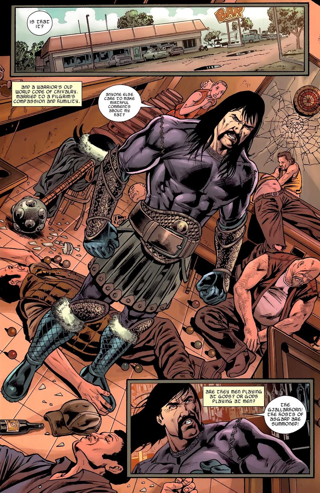 Warriors Three Issue #1 #1 - English 7