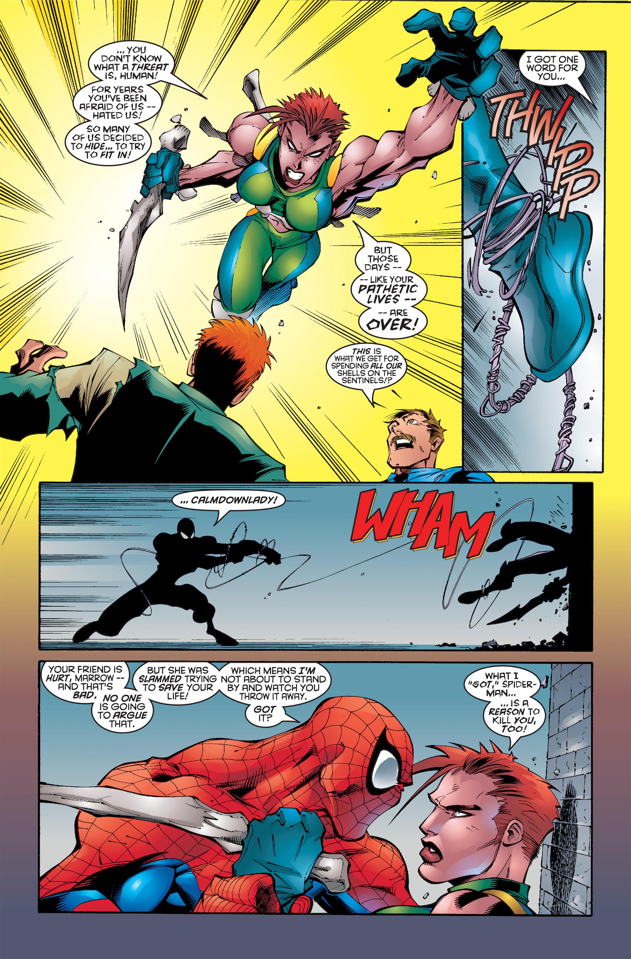 Read online Uncanny X-Men (1963) comic -  Issue #346 - 19