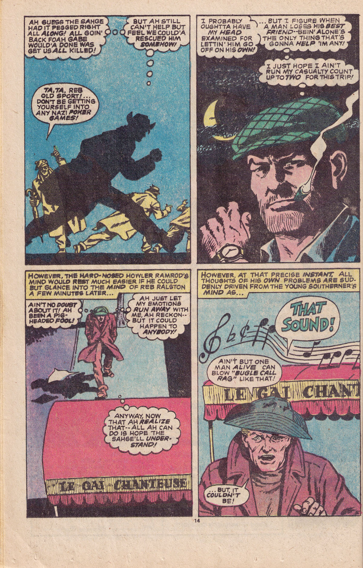 Read online Sgt. Fury comic -  Issue #151 - 16