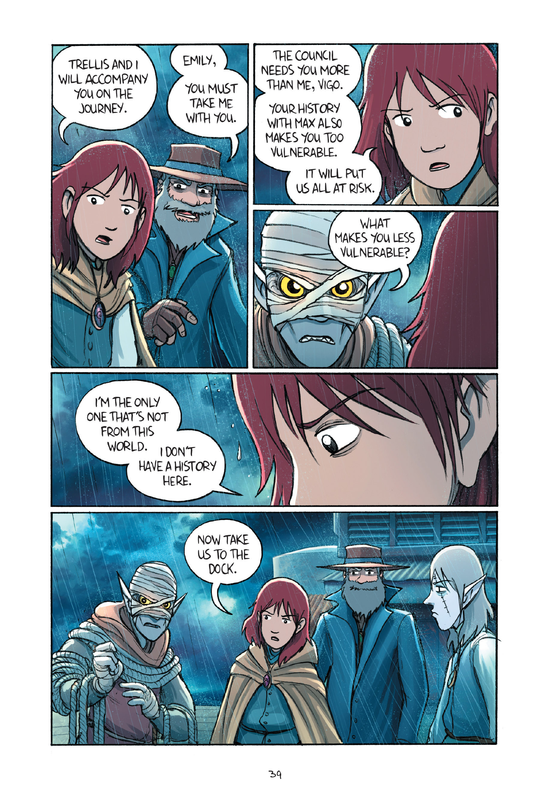 Read online Amulet comic -  Issue #7 - 42