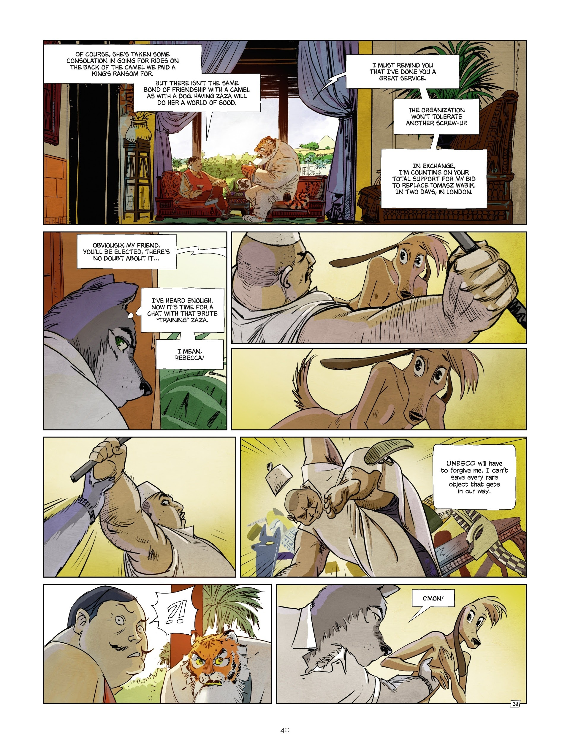 Read online Jack Wolfgang comic -  Issue #3 - 42