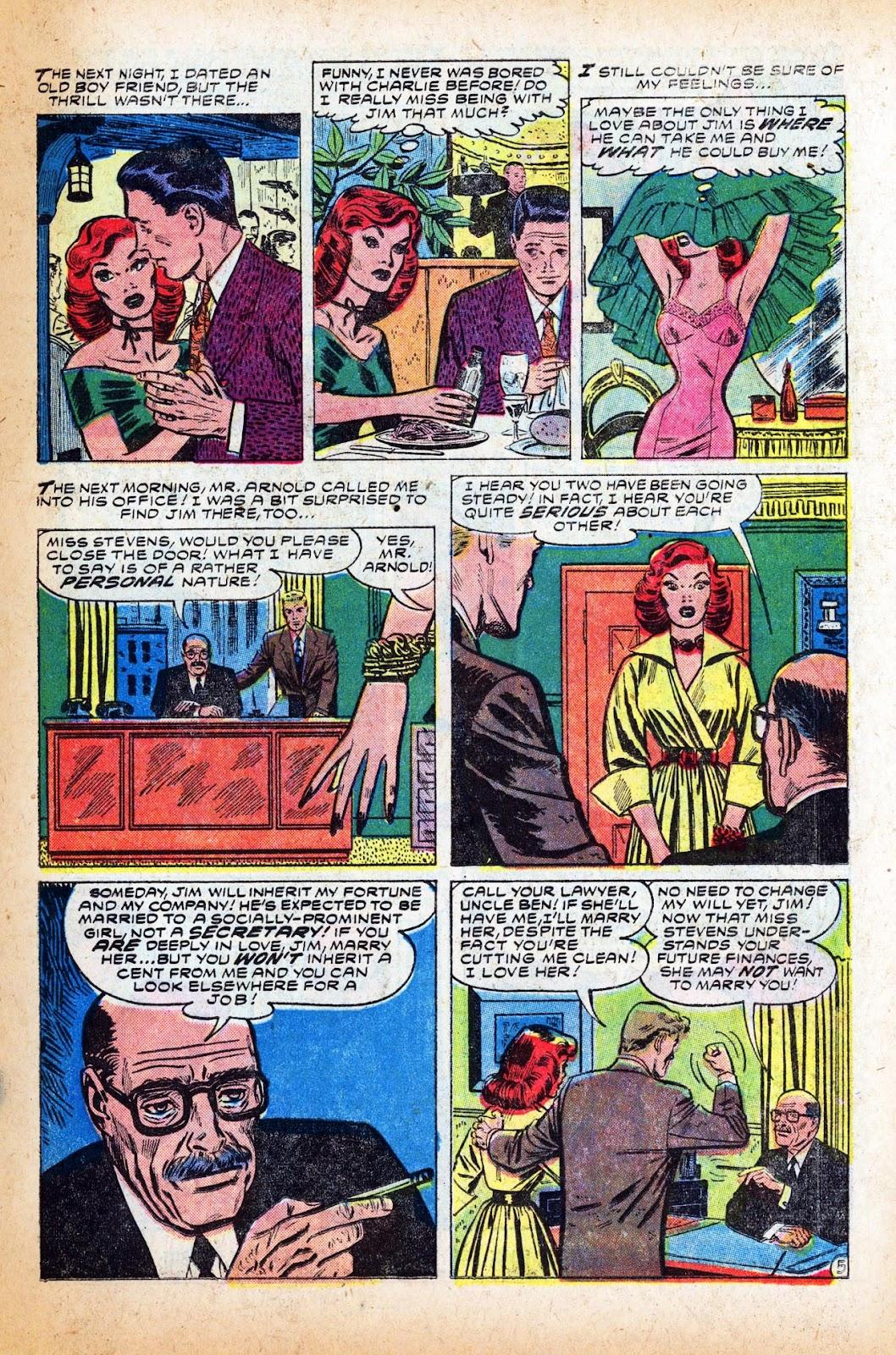 Love Romances (1949) issue 47 - Page 15