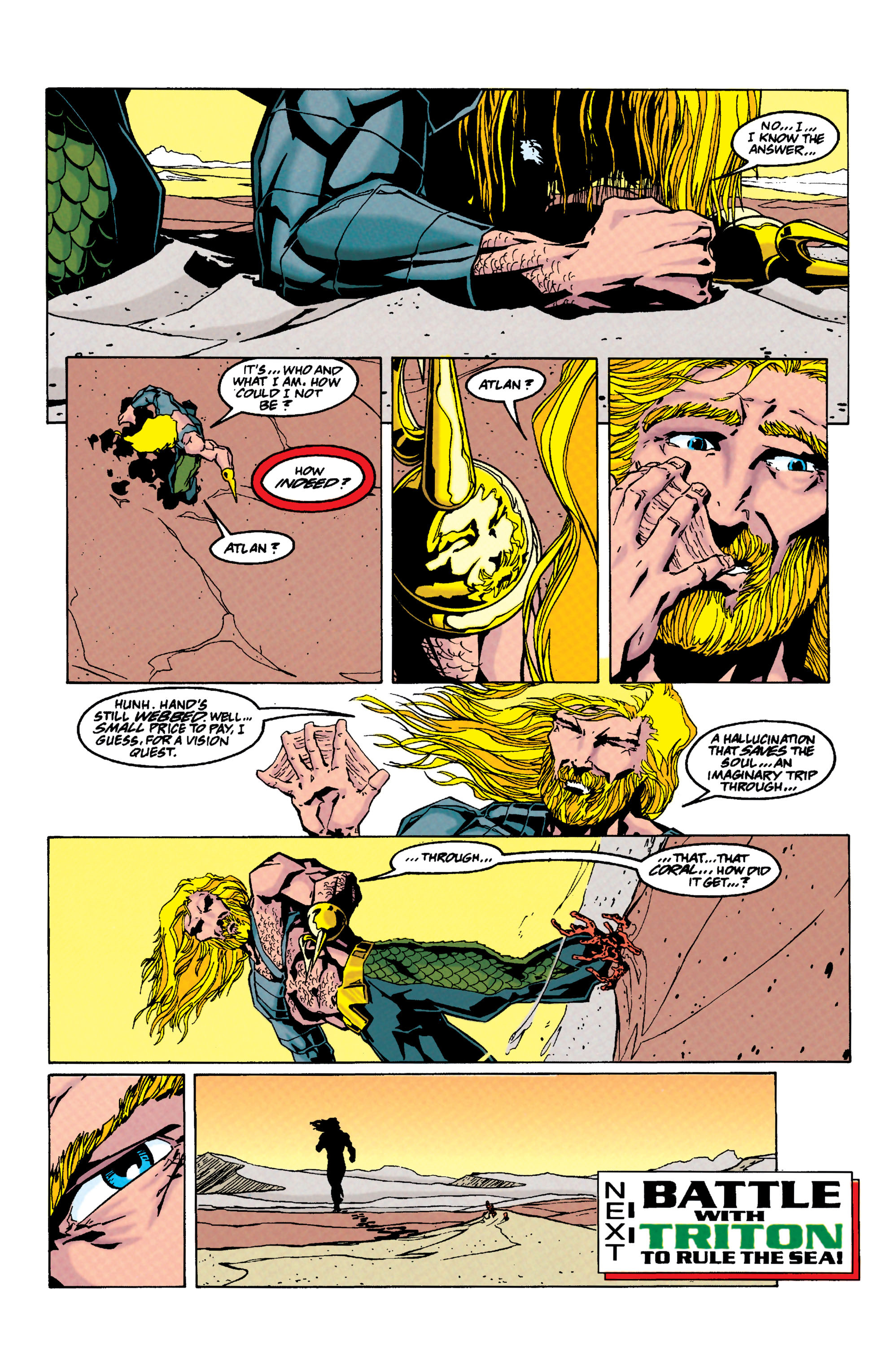 Read online Aquaman (1994) comic -  Issue #33 - 20