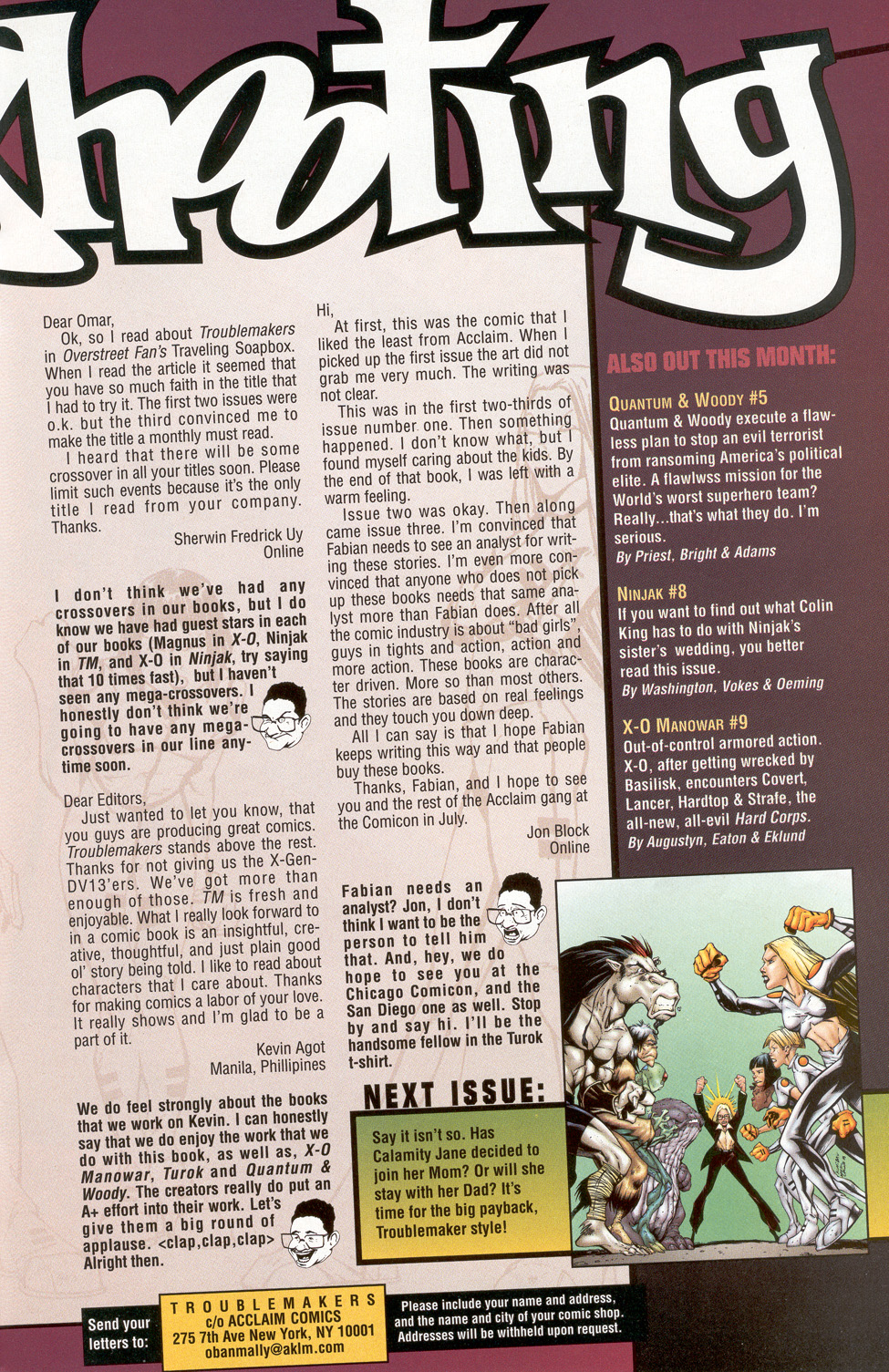 Read online Troublemakers comic -  Issue #7 - 25