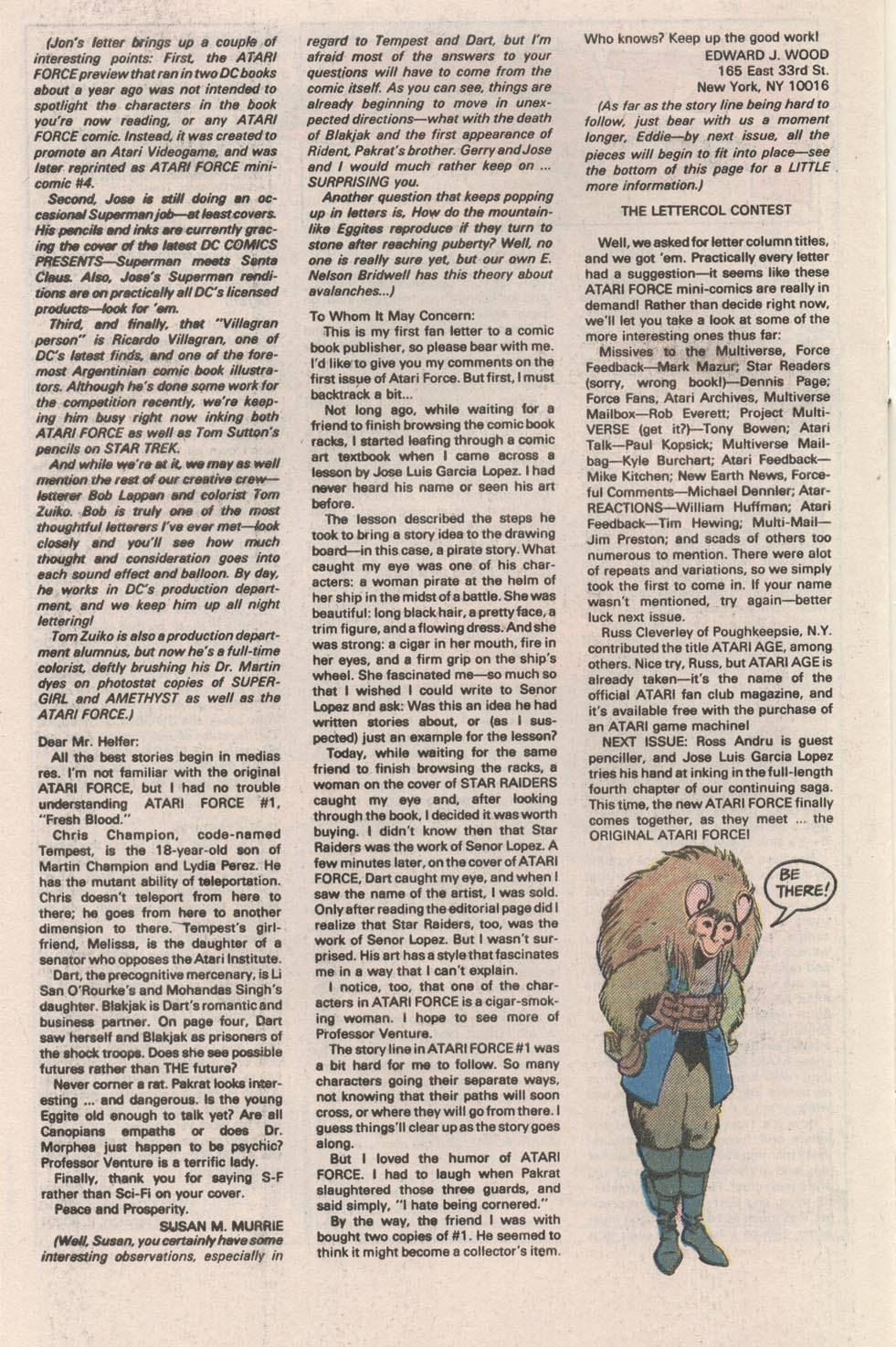 Read online Atari Force (1984) comic -  Issue #3 - 27