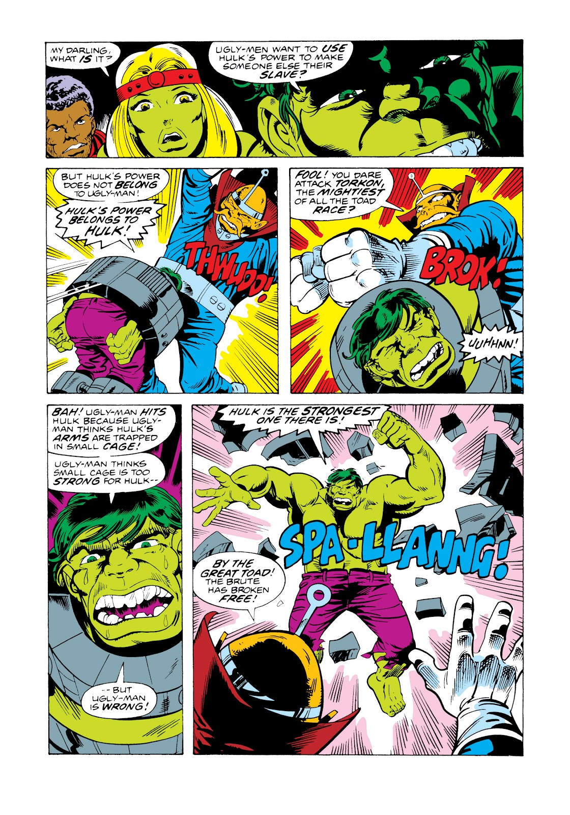 Read online Marvel Masterworks: The Incredible Hulk comic -  Issue # TPB 11 (Part 2) - 44