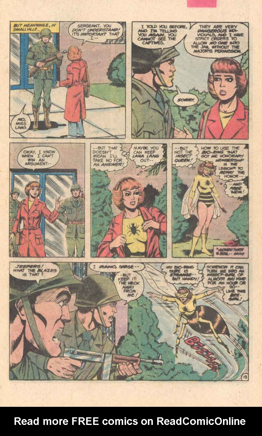 Legion of Super-Heroes (1980) 282 Page 13