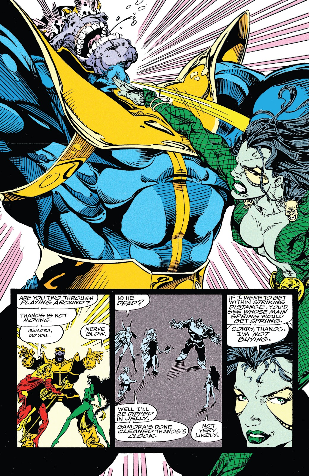 Read online Marvel Tales: Thanos comic -  Issue # Full - 65