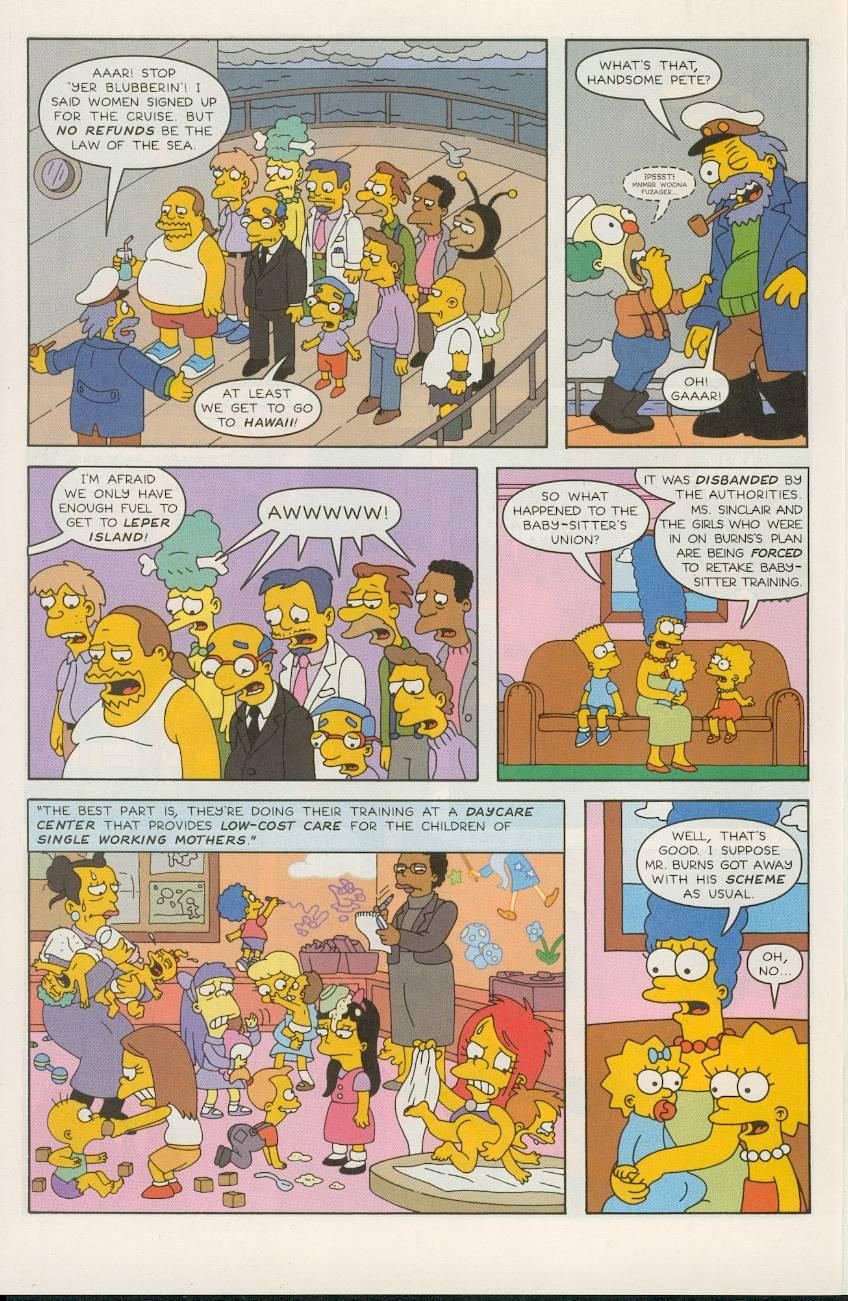 Read online Simpsons Comics comic -  Issue #49 - 21