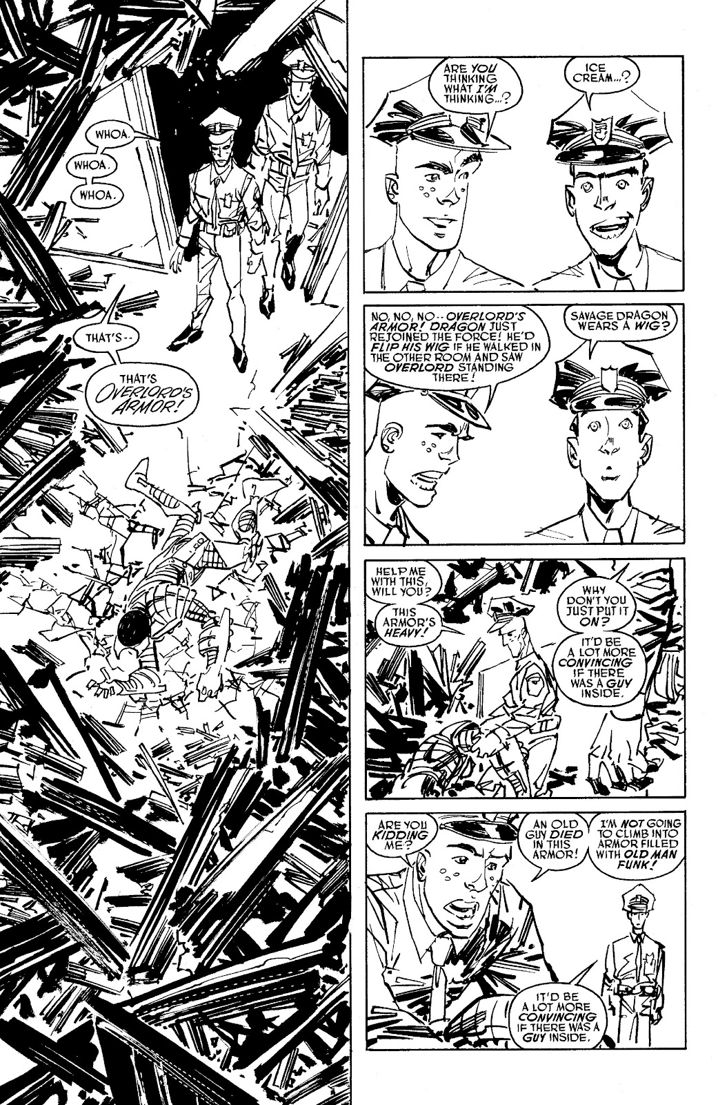 Read online Savage Dragon Archives comic -  Issue # TPB 6 (Part 5) - 83