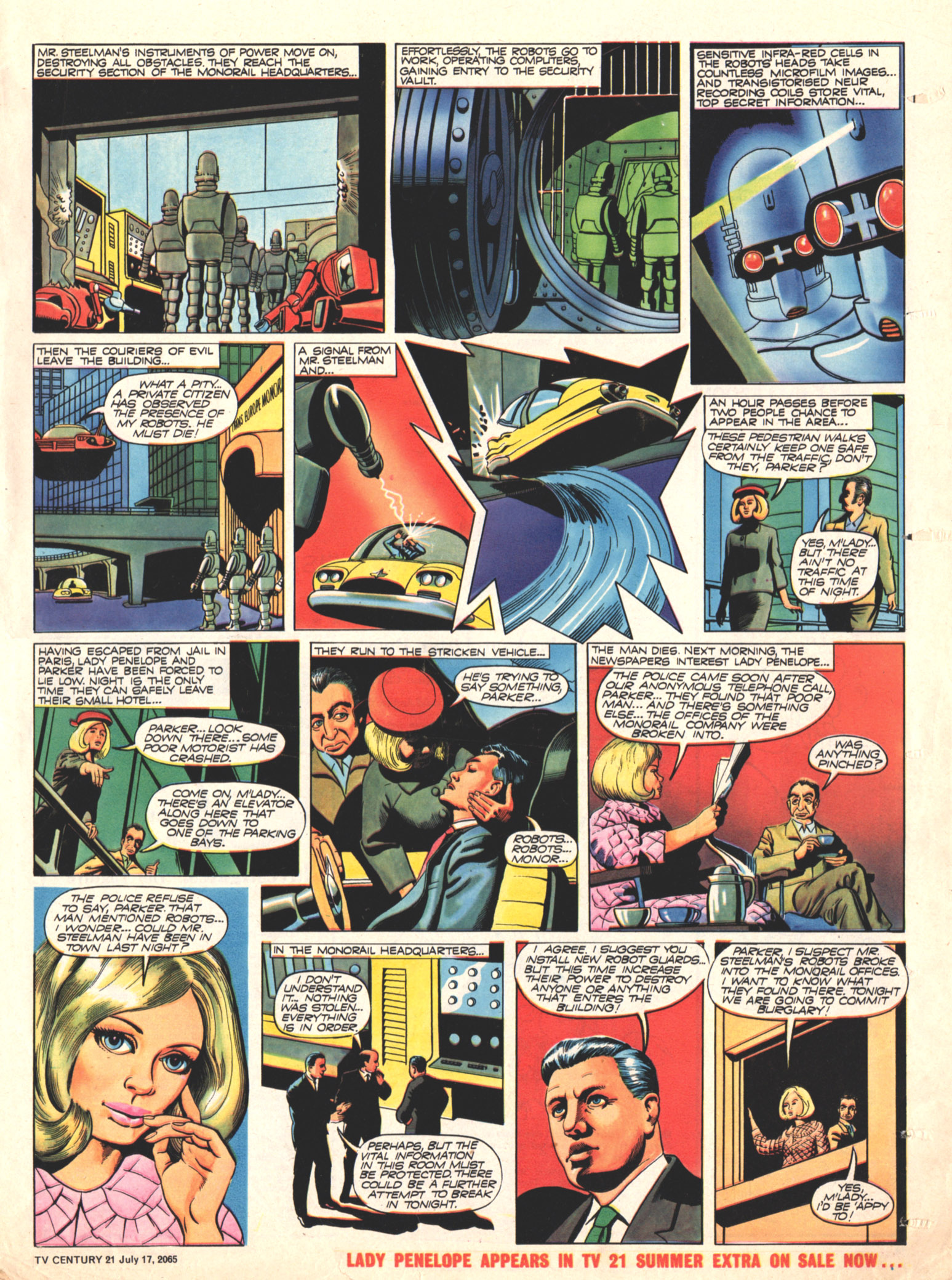 Read online TV Century 21 (TV 21) comic -  Issue #26 - 16