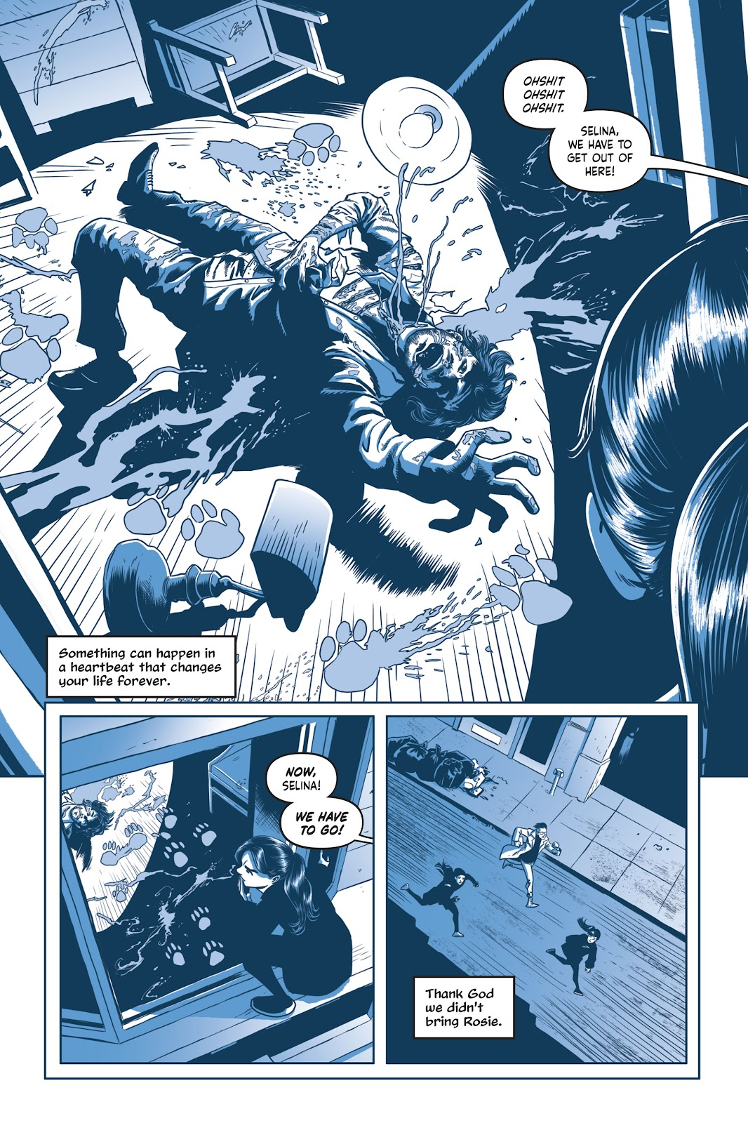 Read online Under the Moon: A Catwoman Tale comic -  Issue # TPB (Part 2) - 31