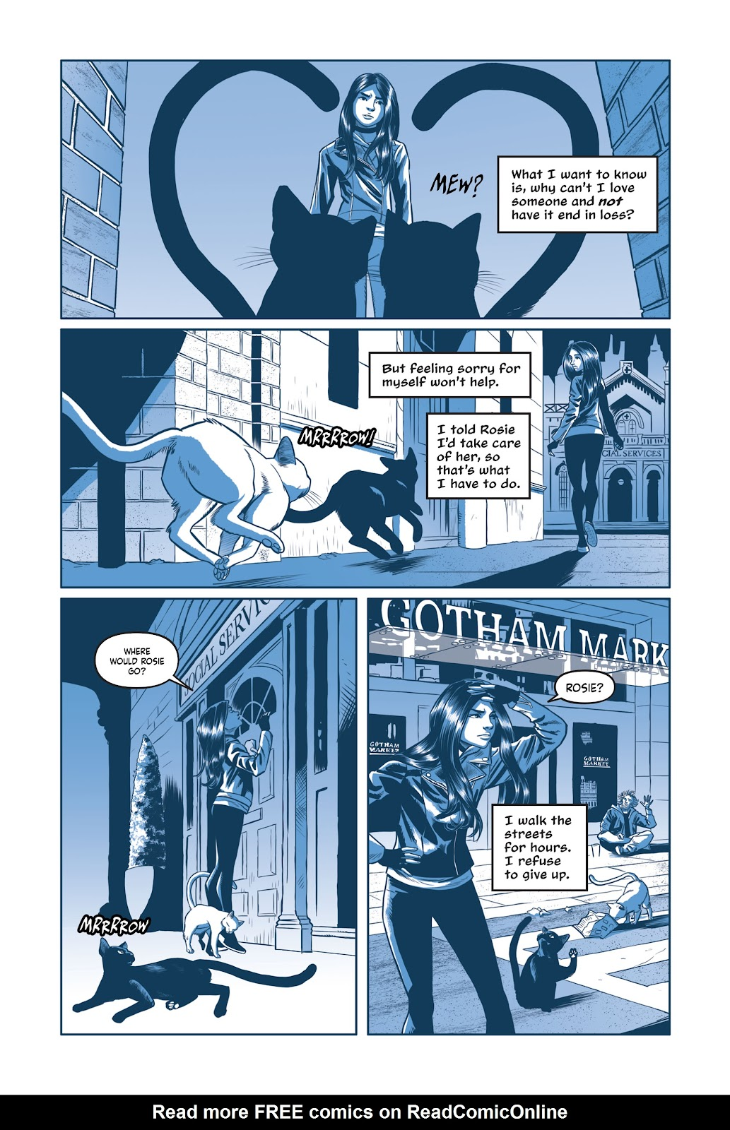 Read online Under the Moon: A Catwoman Tale comic -  Issue # TPB (Part 2) - 71