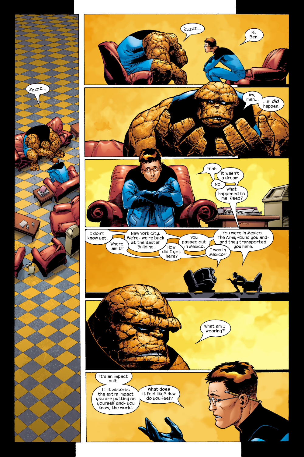 Read online Ultimate Fantastic Four (2004) comic -  Issue #4 - 6