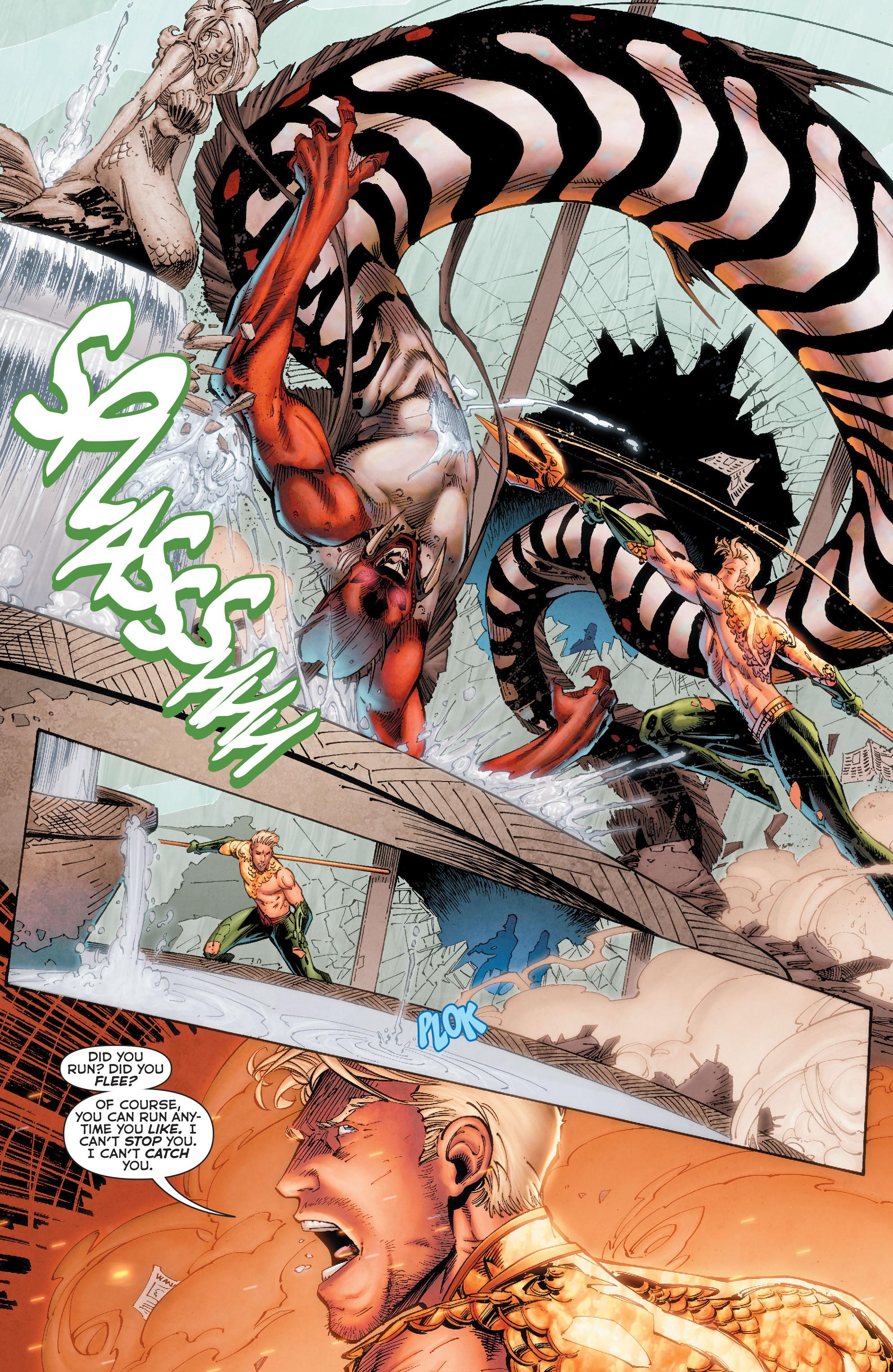 Read online Aquaman (2011) comic -  Issue #50 - 29