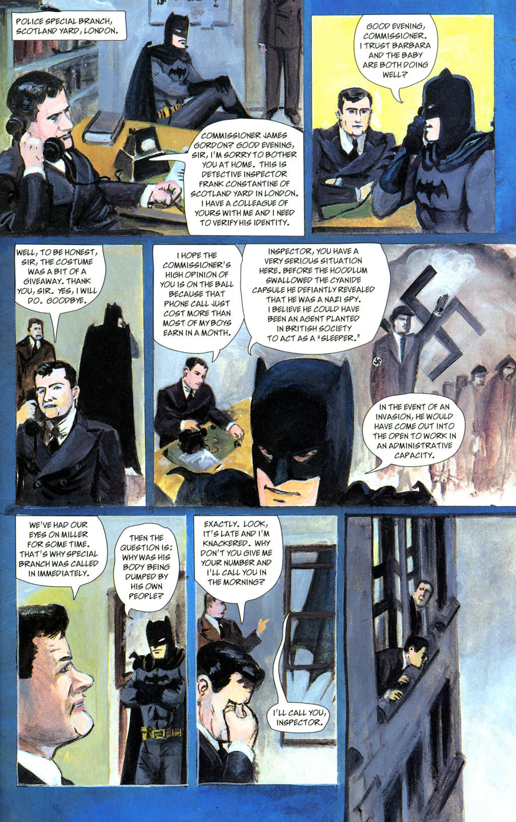 Read online Batman: The Order of Beasts comic -  Issue # Full - 19