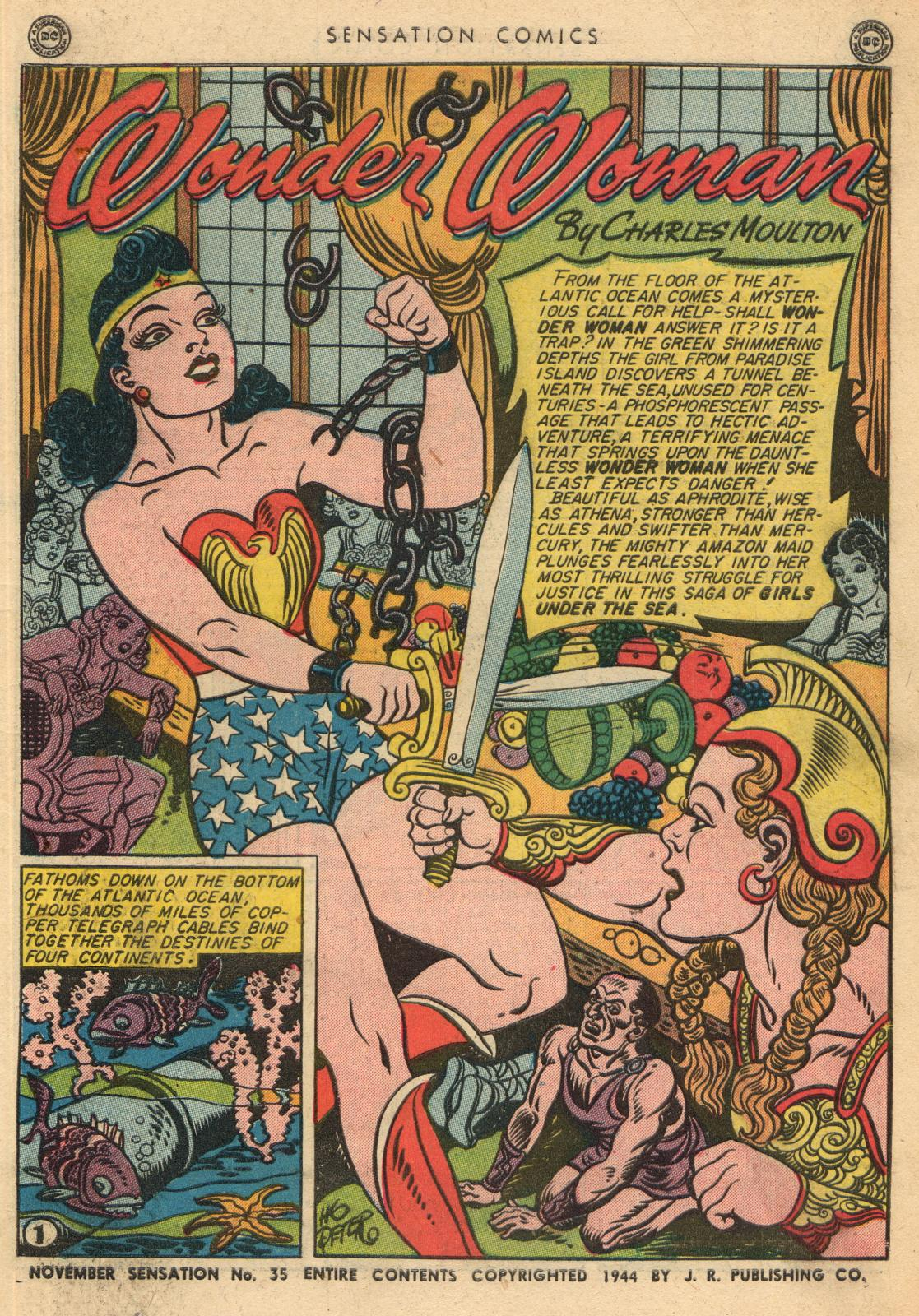 Read online Sensation (Mystery) Comics comic -  Issue #35 - 3