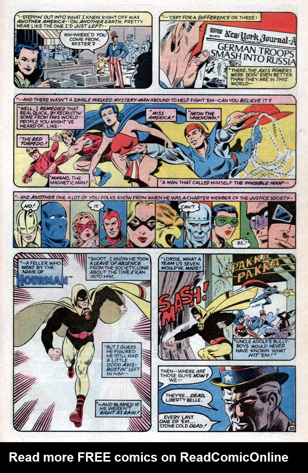 Read online All-Star Squadron comic -  Issue #31 - 27