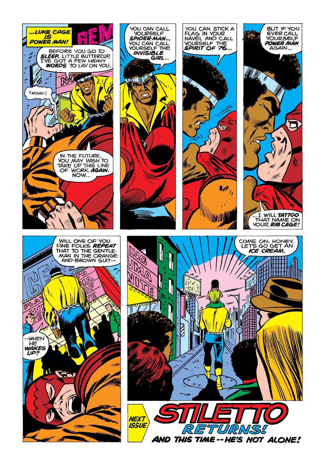 Read online Marvel Masterworks: Luke Cage, Power Man comic -  Issue # TPB 2 (Part 2) - 5