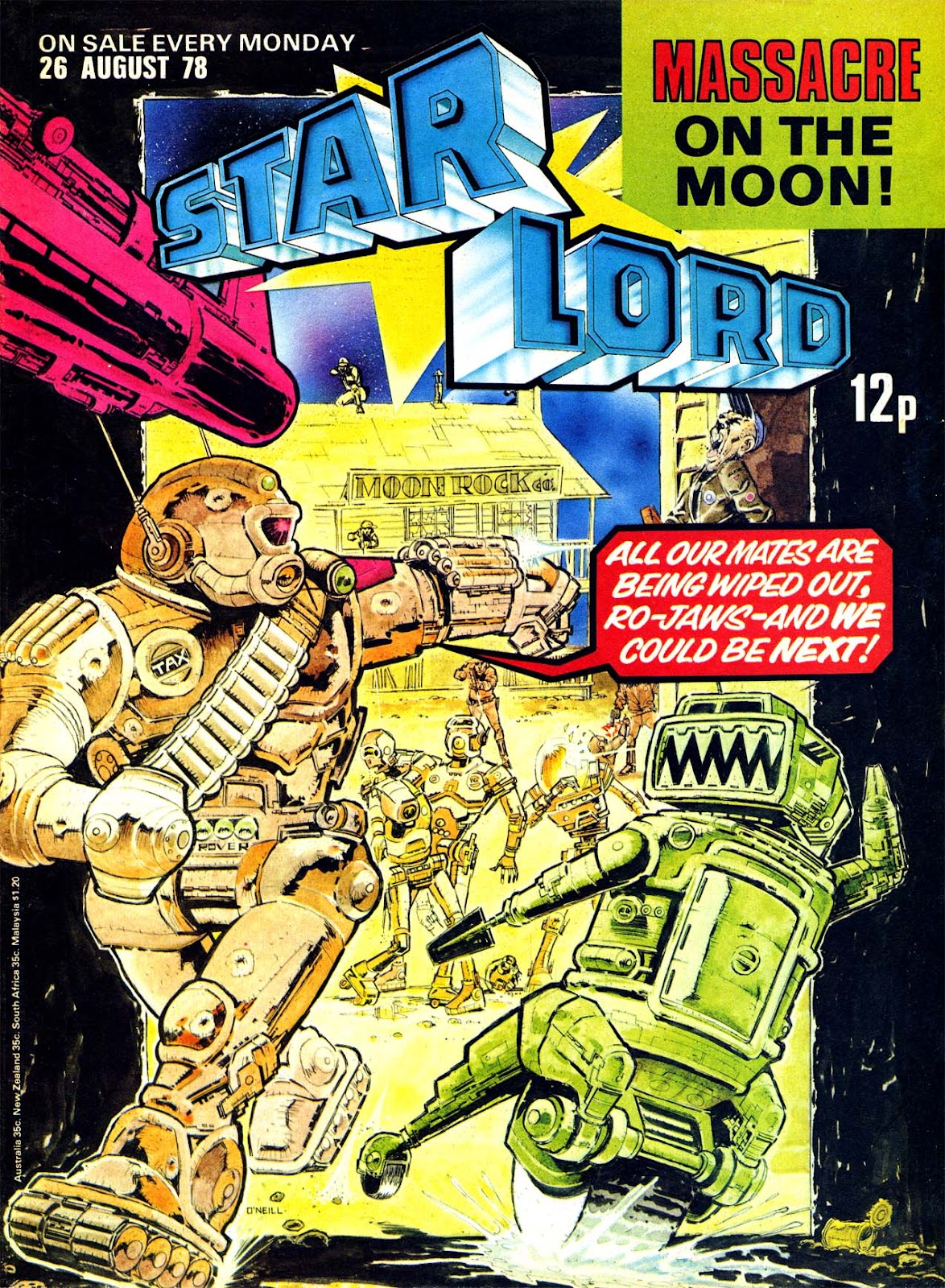 Starlord (1978) issue 16 - Page 1