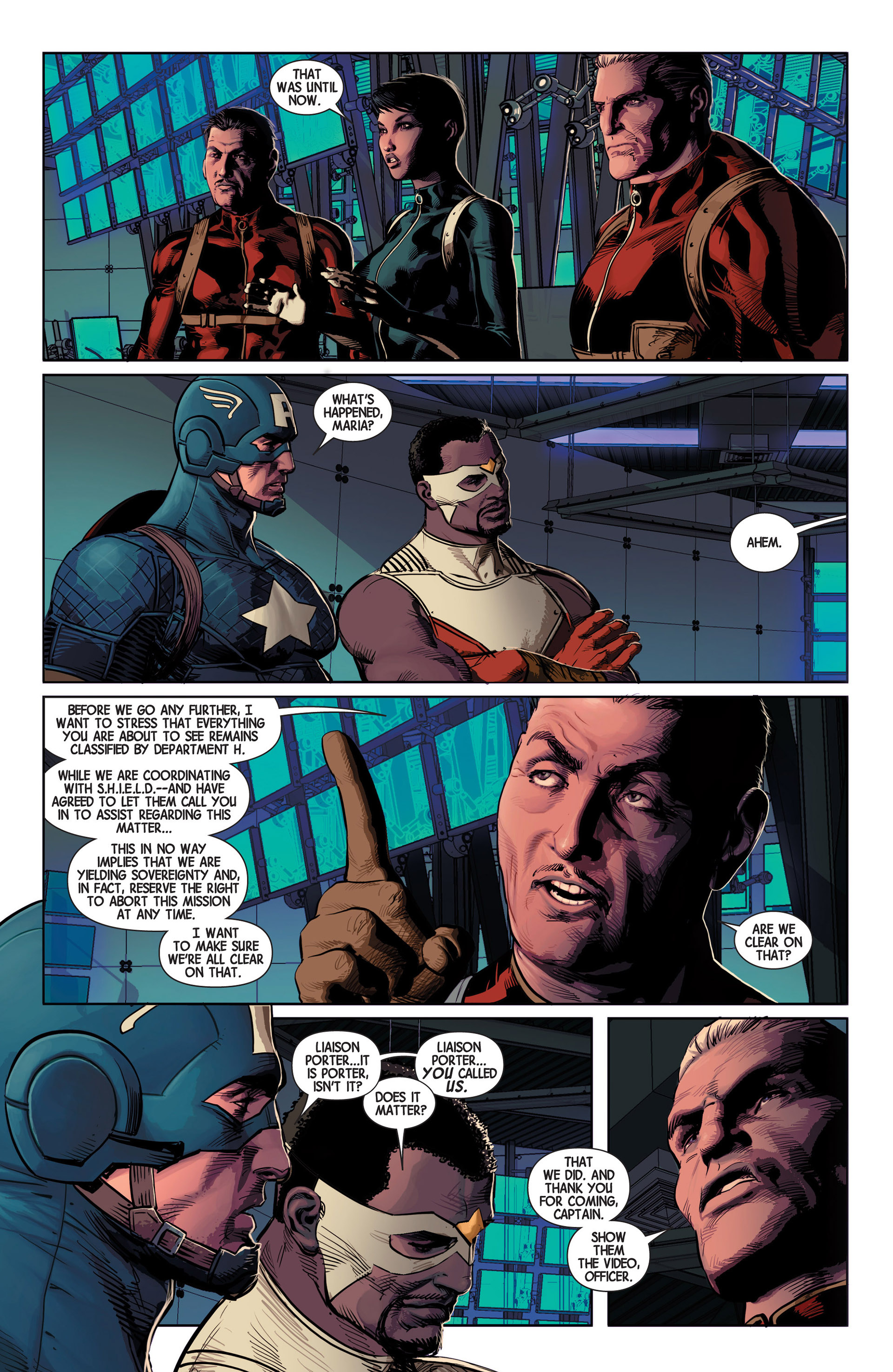 Read online Avengers (2013) comic -  Issue #10 - 7