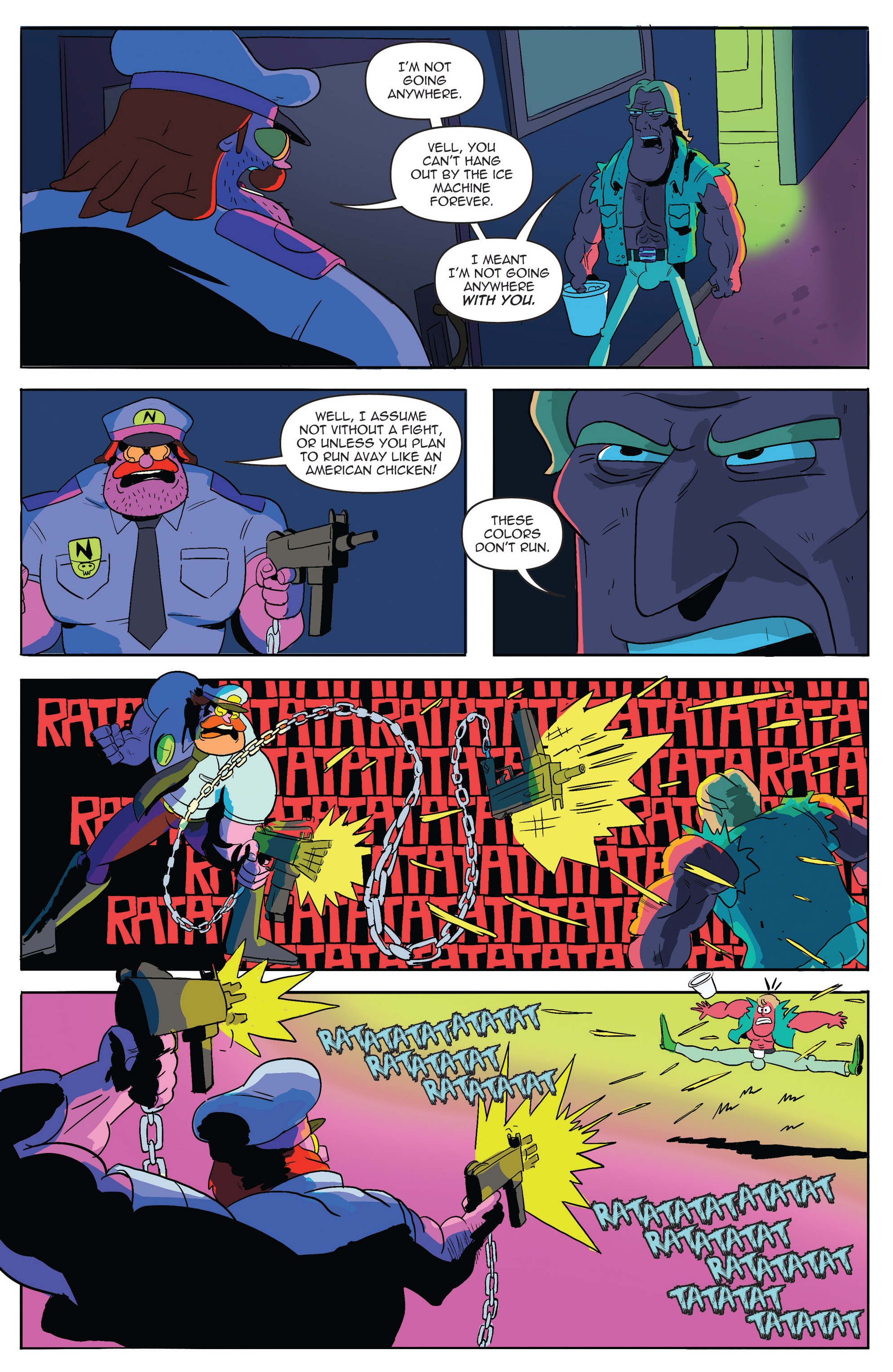 Read online AmeriKarate comic -  Issue #2 - 21