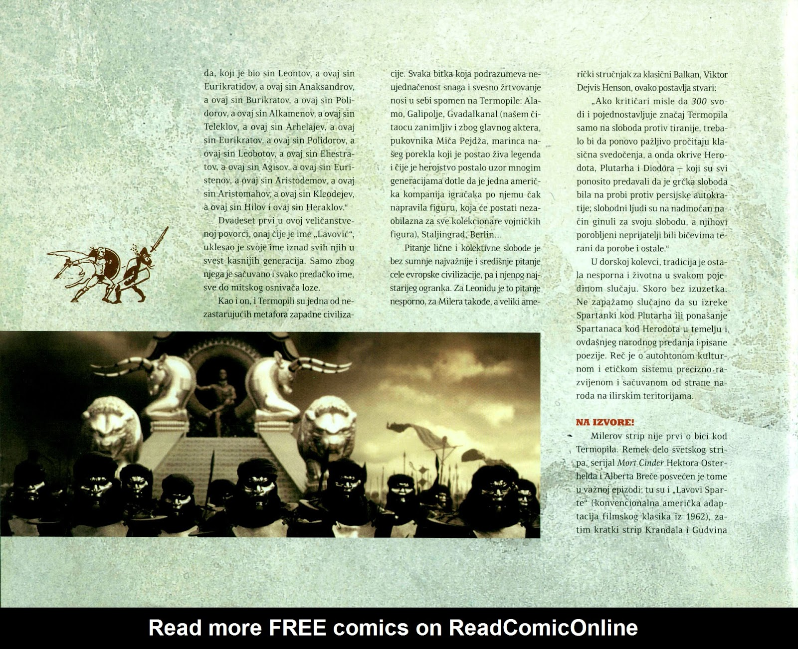 Read online 300 (2007) comic -  Issue # TPB - 91