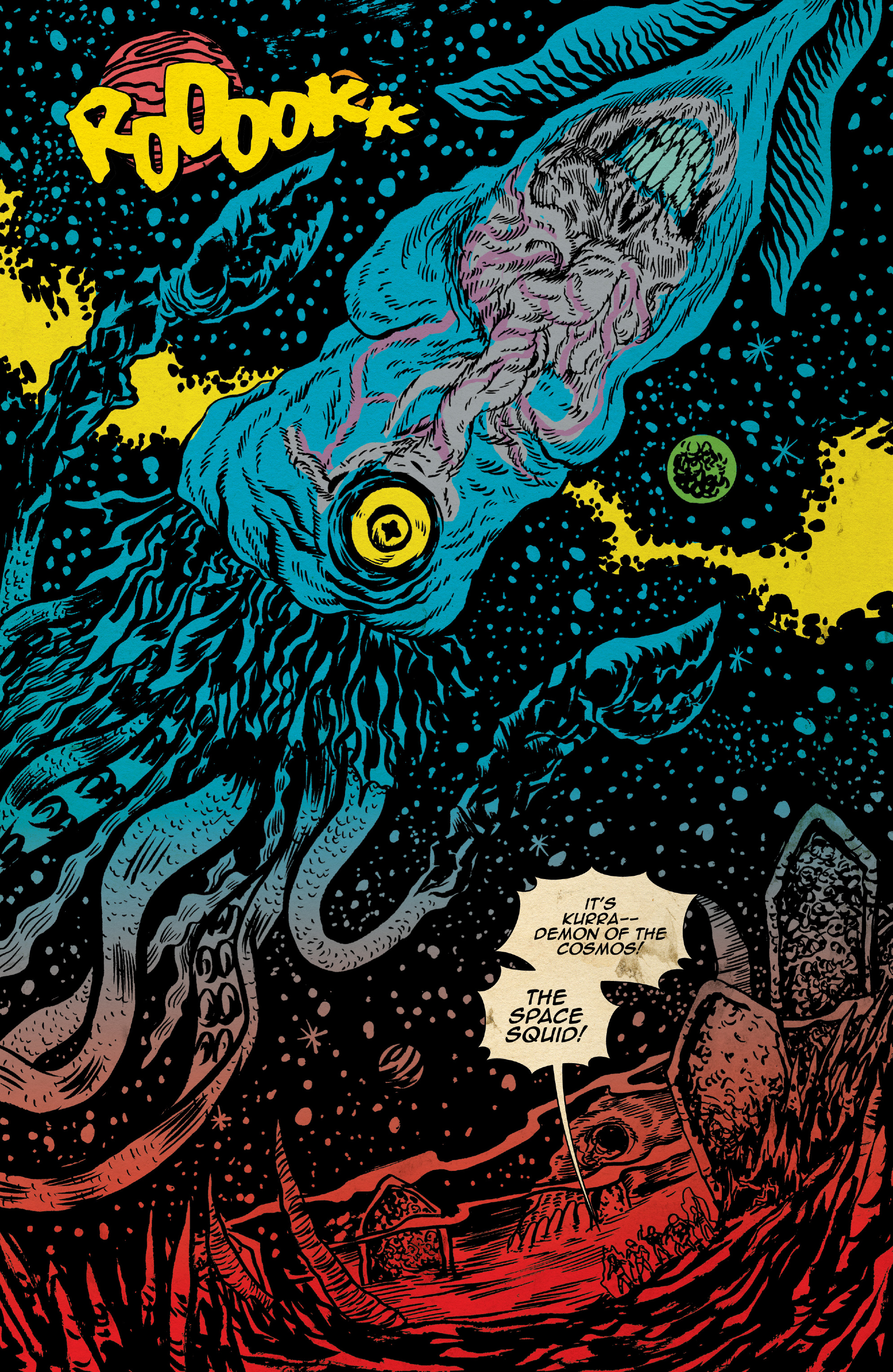 Read online Space Riders: Galaxy of Brutality comic -  Issue #2 - 17