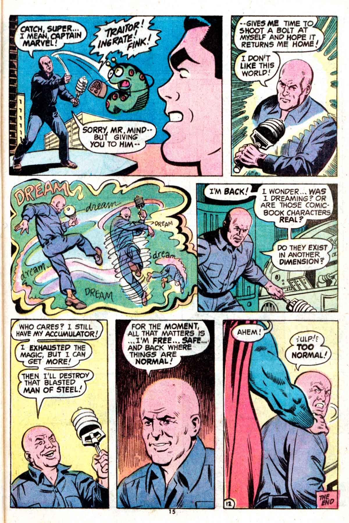 Read online Shazam! (1973) comic -  Issue #15 - 15