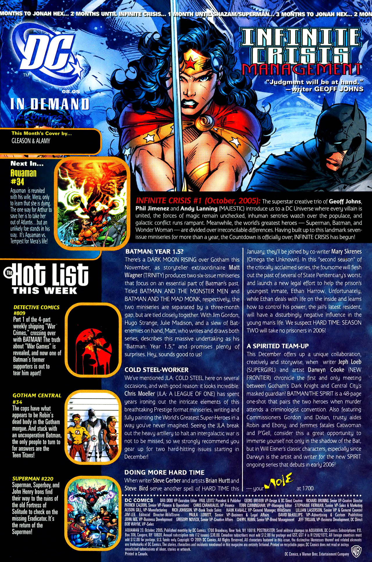 Read online Aquaman (2003) comic -  Issue #33 - 24