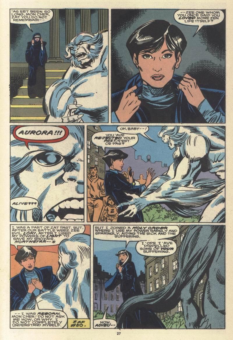 Read online Alpha Flight (1983) comic -  Issue #64 - 27
