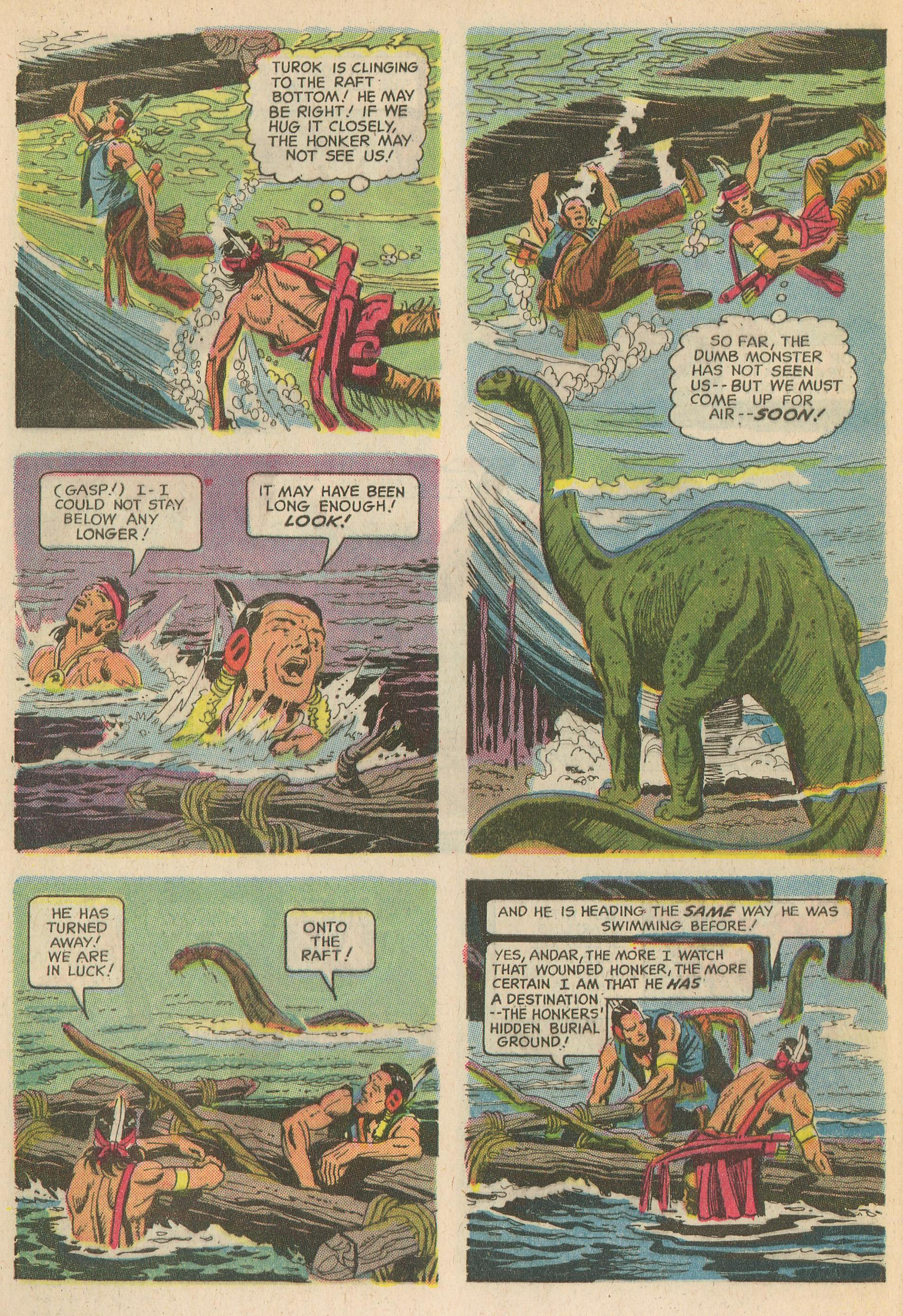 Read online Turok, Son of Stone comic -  Issue #65 - 8